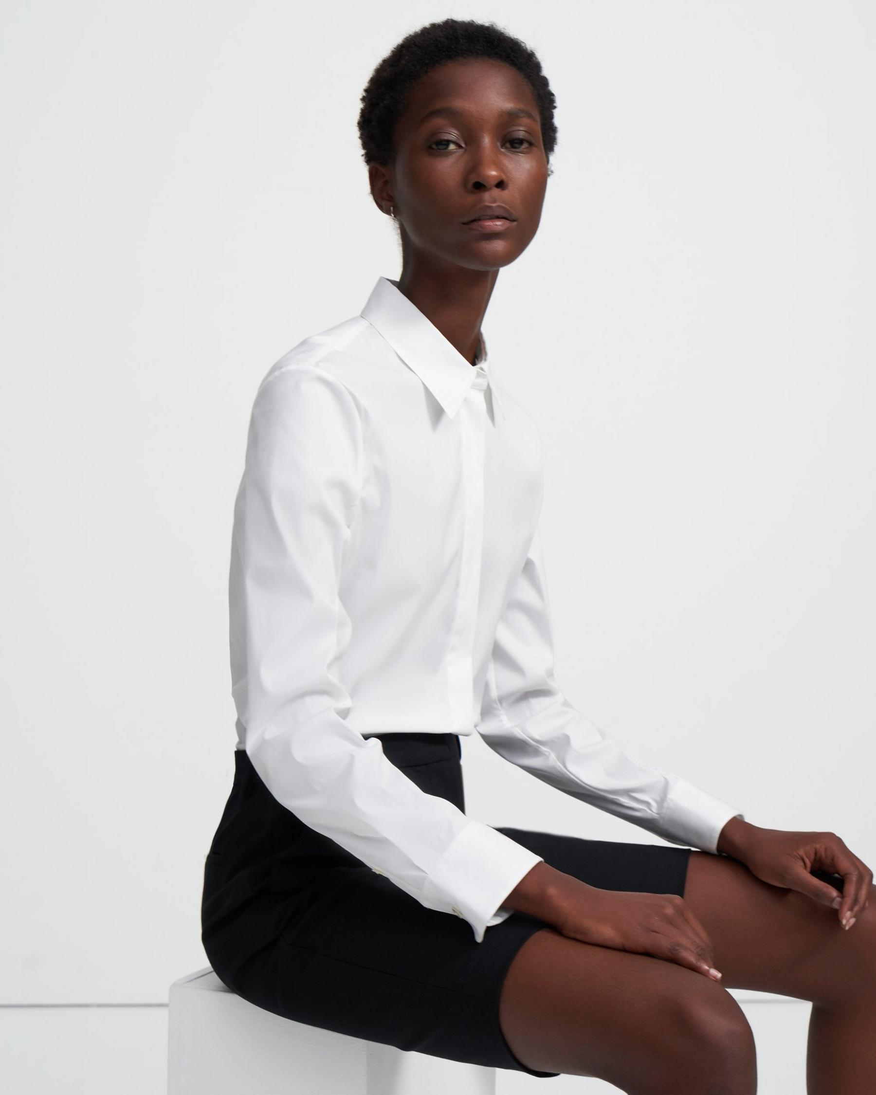 Fitted Shirt in Good Cotton