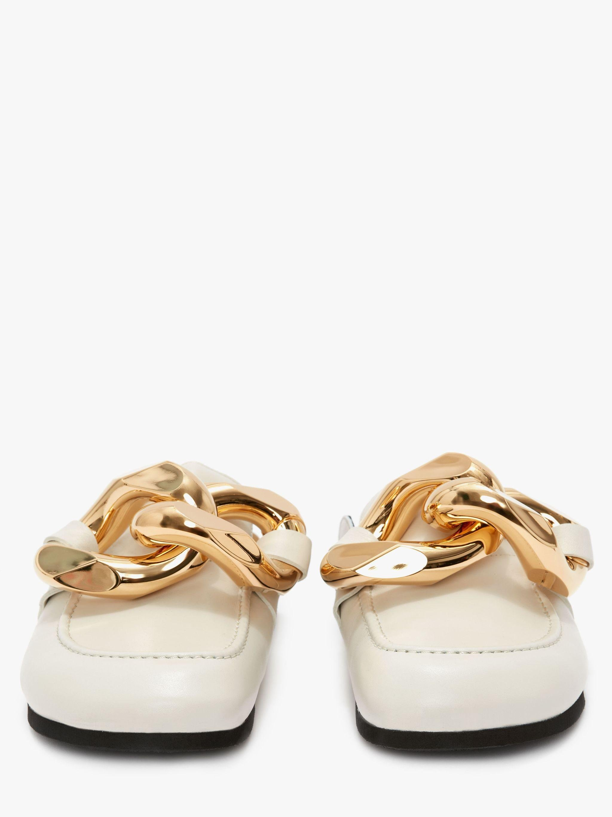 WOMEN'S CHAIN LOAFER MULES 2