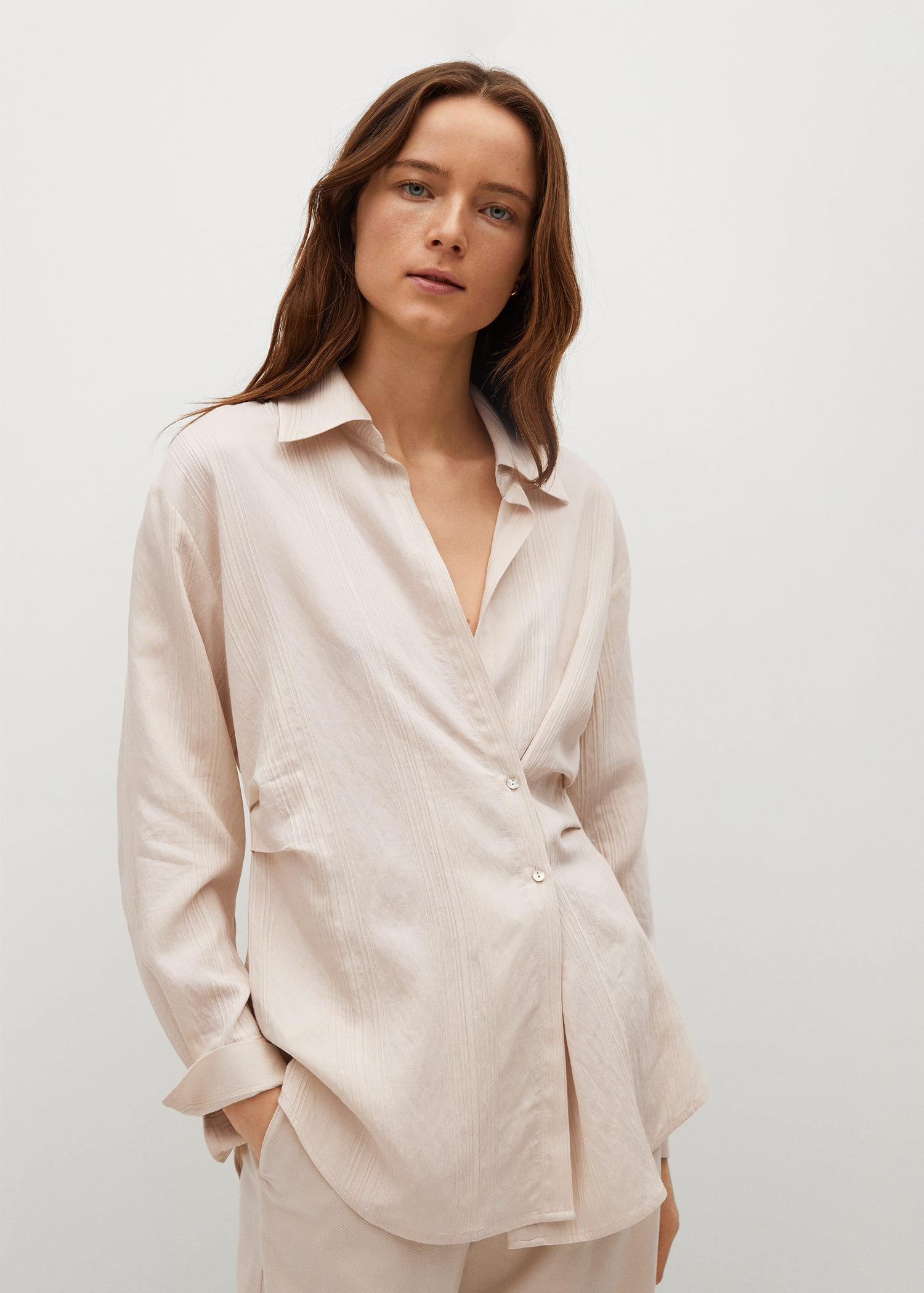 Stripped structure shirt