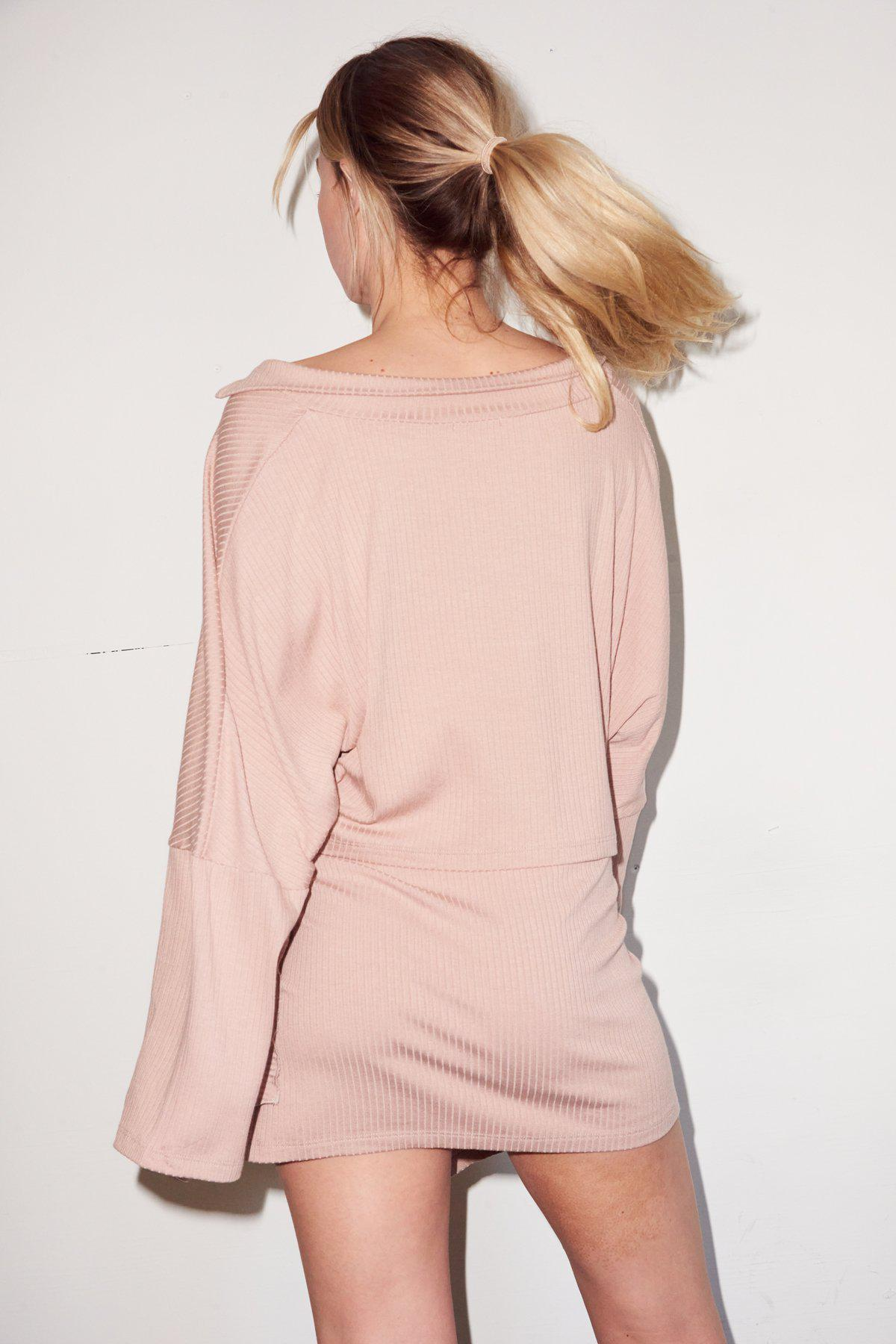 Carusso Wrap Skirt - Nude 2