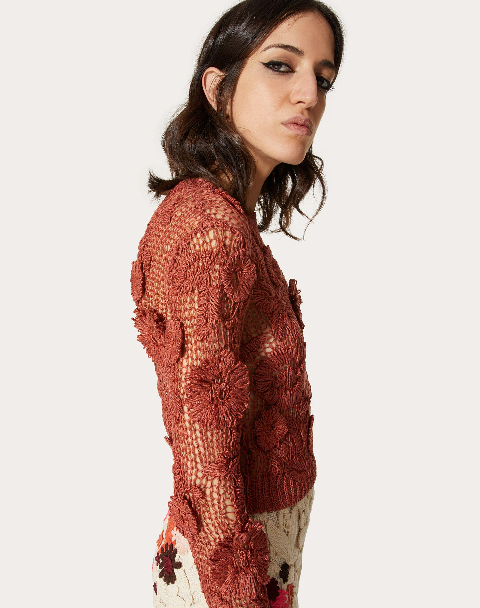 EMBROIDERED LINEN SWEATER 3