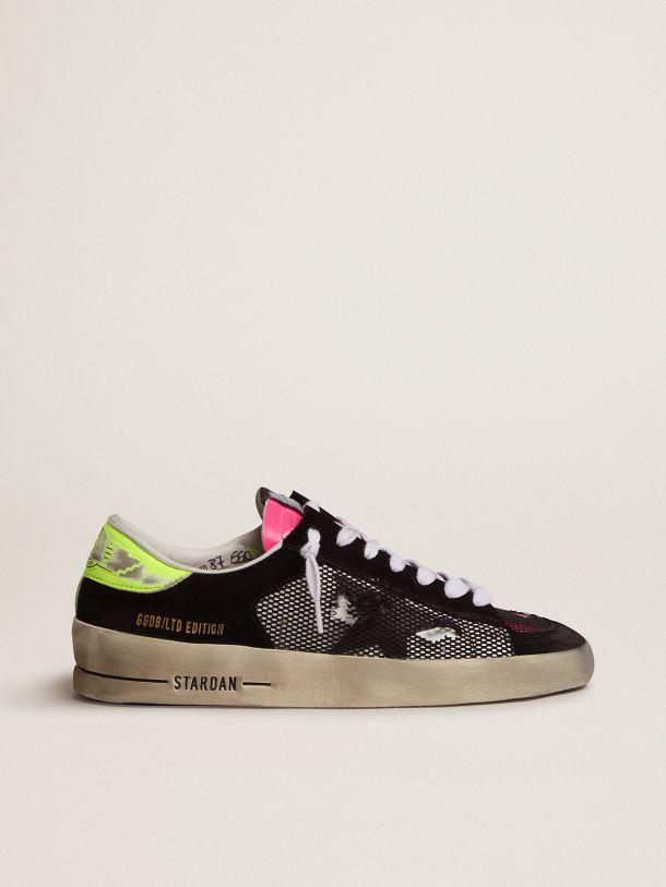 Women's Limited Edition Stardan sneakers in fuchsia and yellow