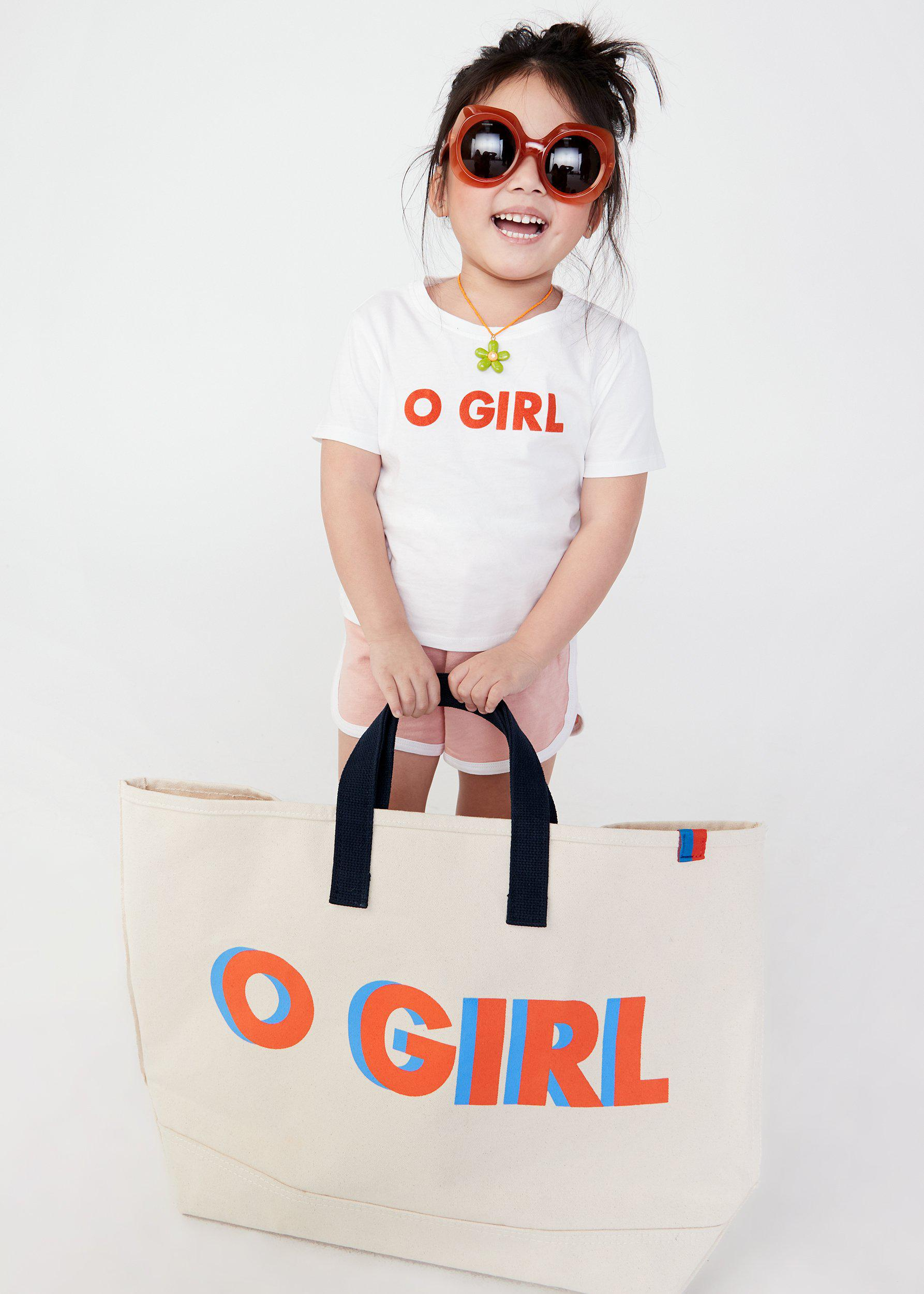 The O GIRL Tote - Canvas 1