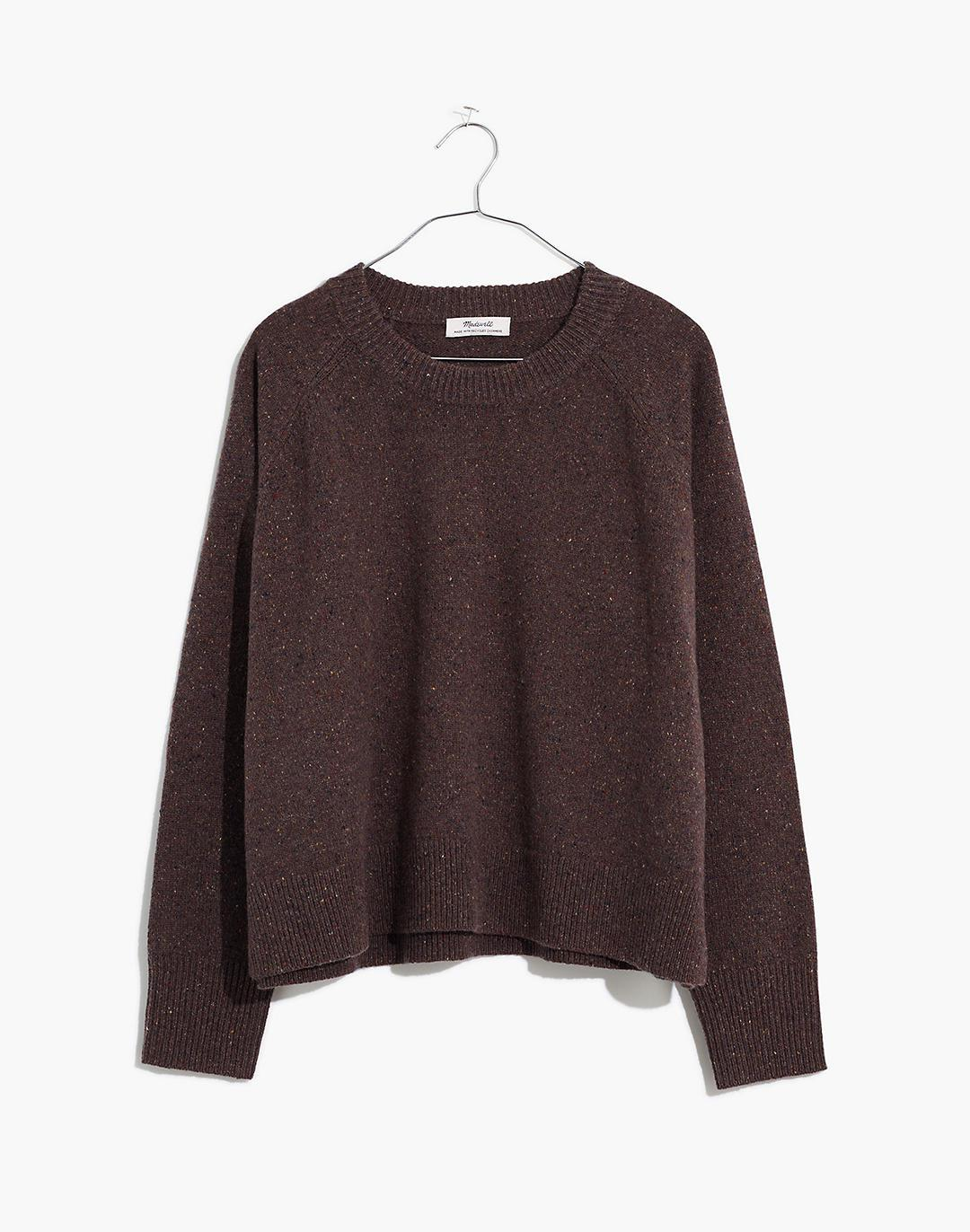 Plus Donegal (Re)sourced Cashmere Crewneck Sweater