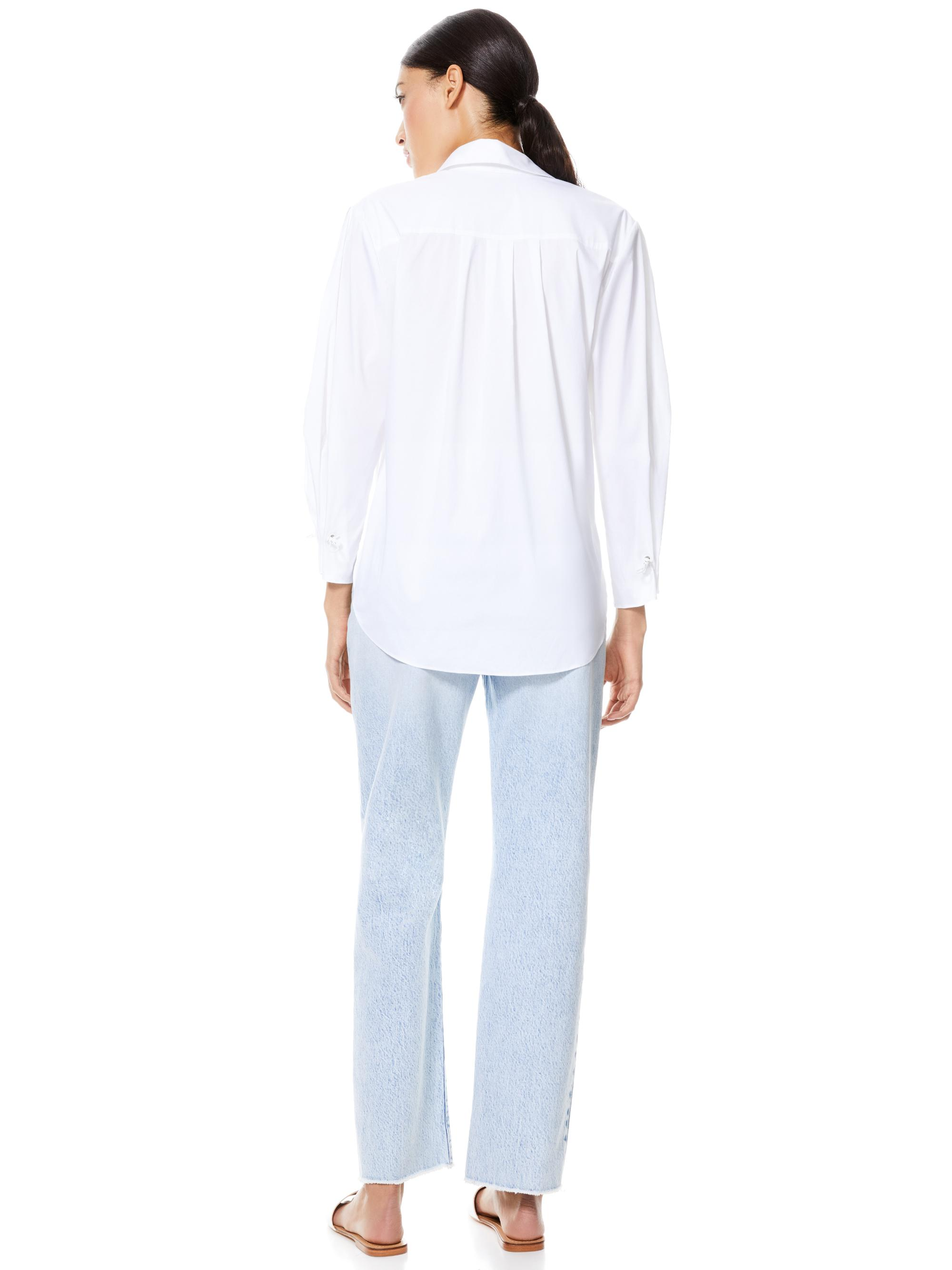 WES PLEATED SLEEVE BUTTON DOWN 1