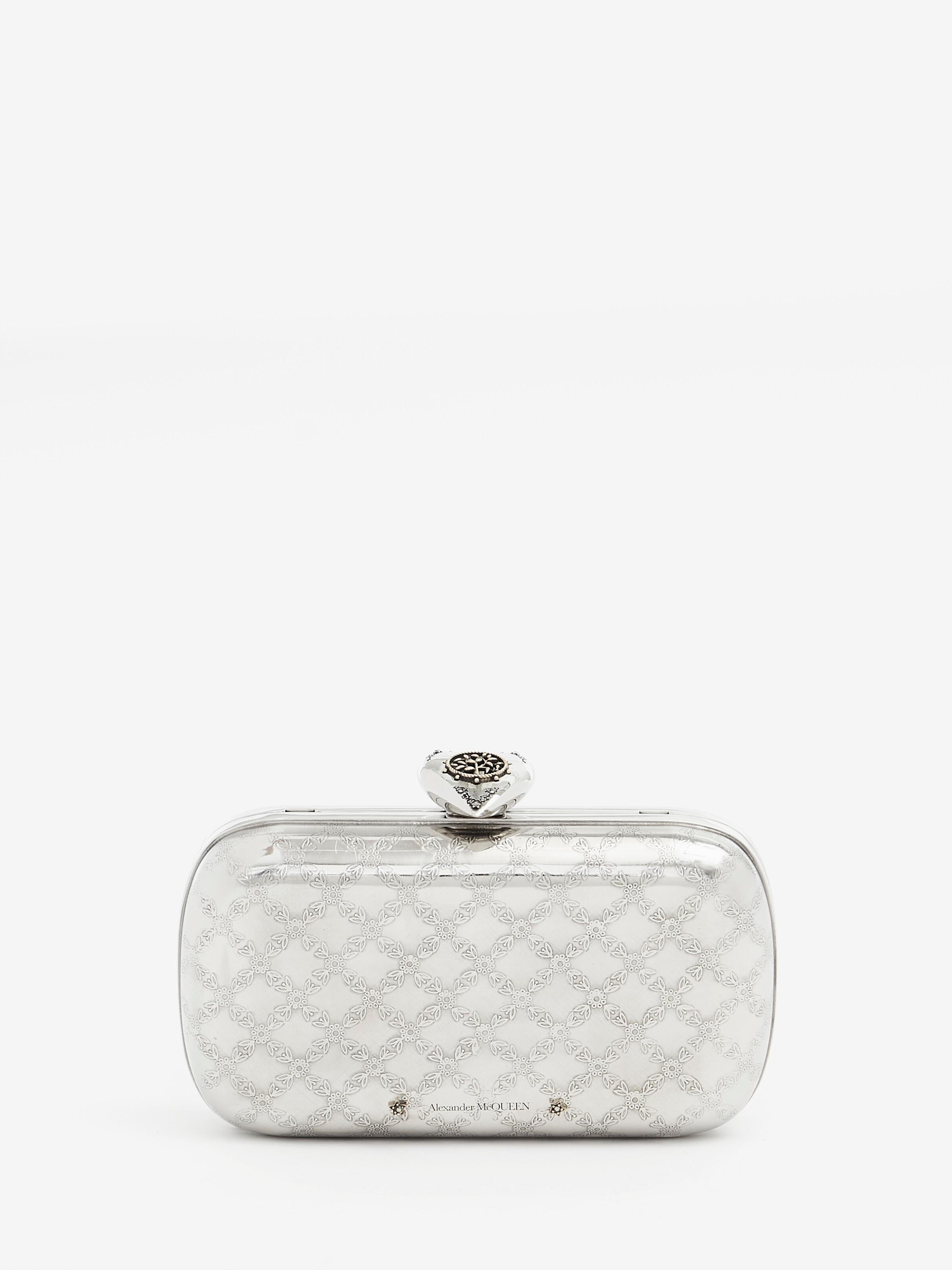 Engraved Heart Clutch