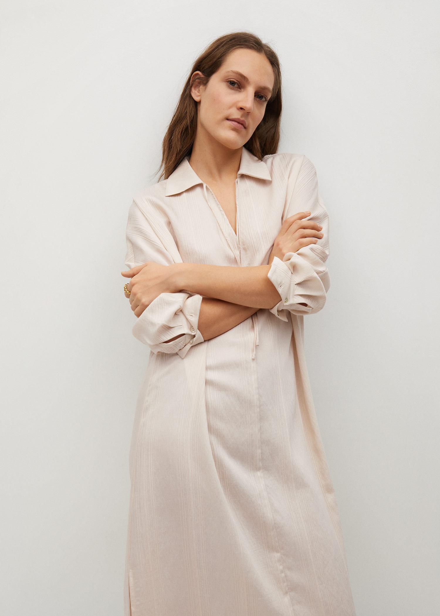 Stripped structure dress
