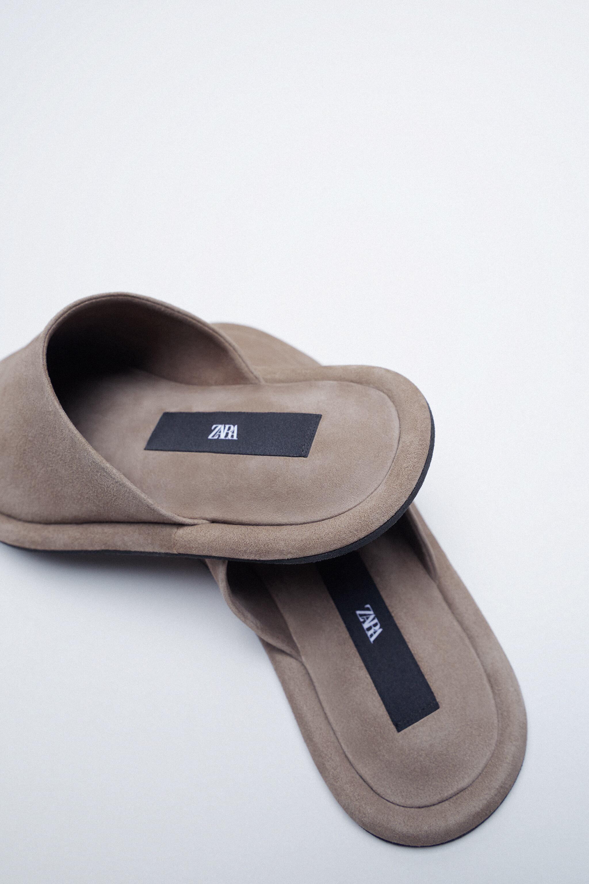 FLAT SOFT LEATHER SHOES 5