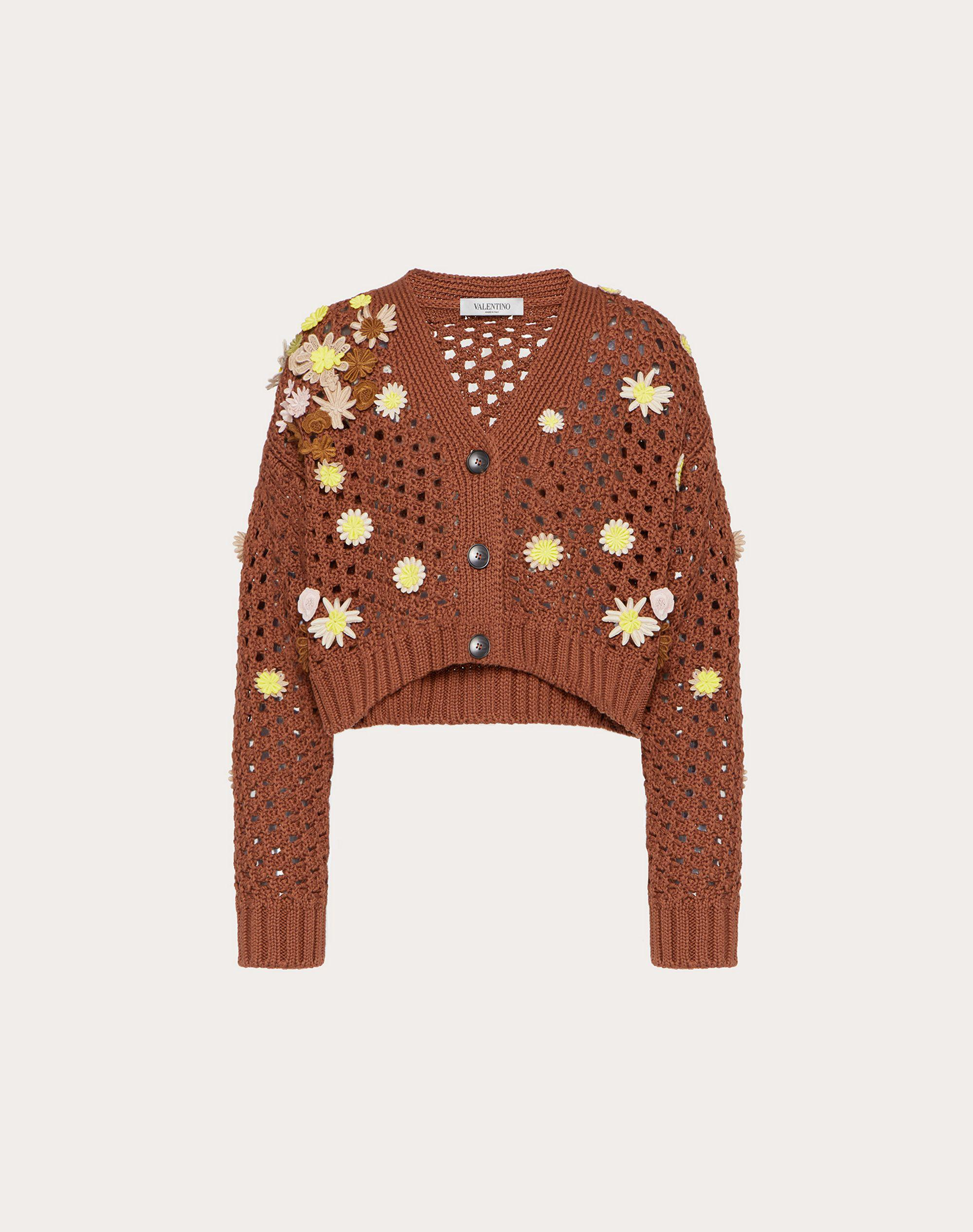 EMBROIDERED COTTON CARDIGAN 4
