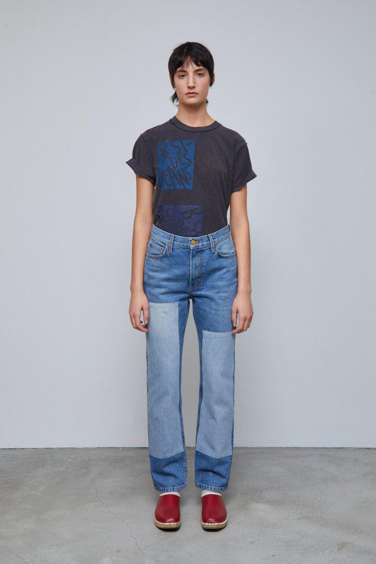 Arts Straight Jean Reese Vintage Patchwork No.2