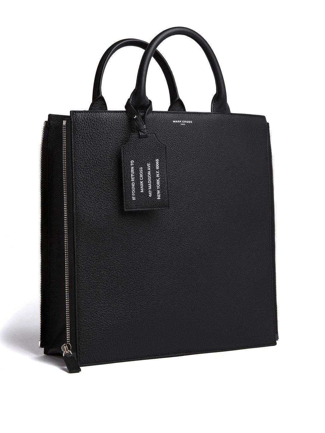 Sidney Leather Tote Bag 5