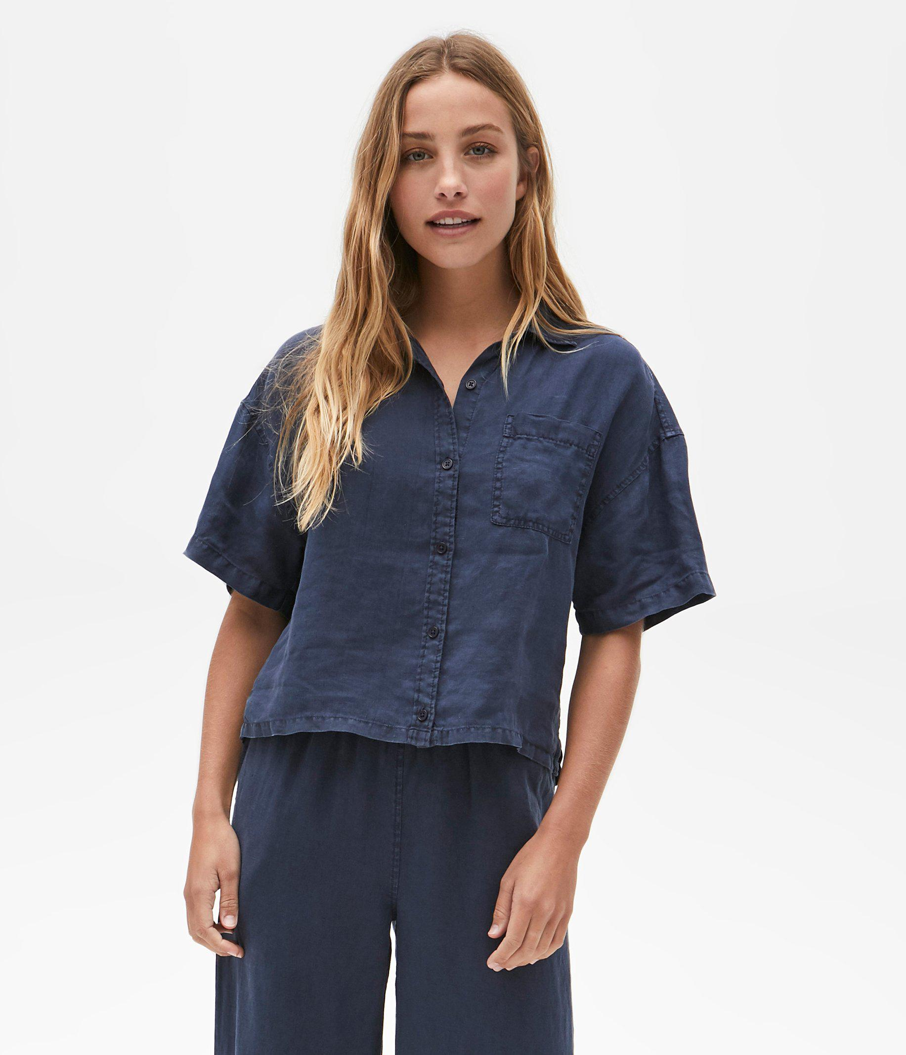 Penny Button Up Top