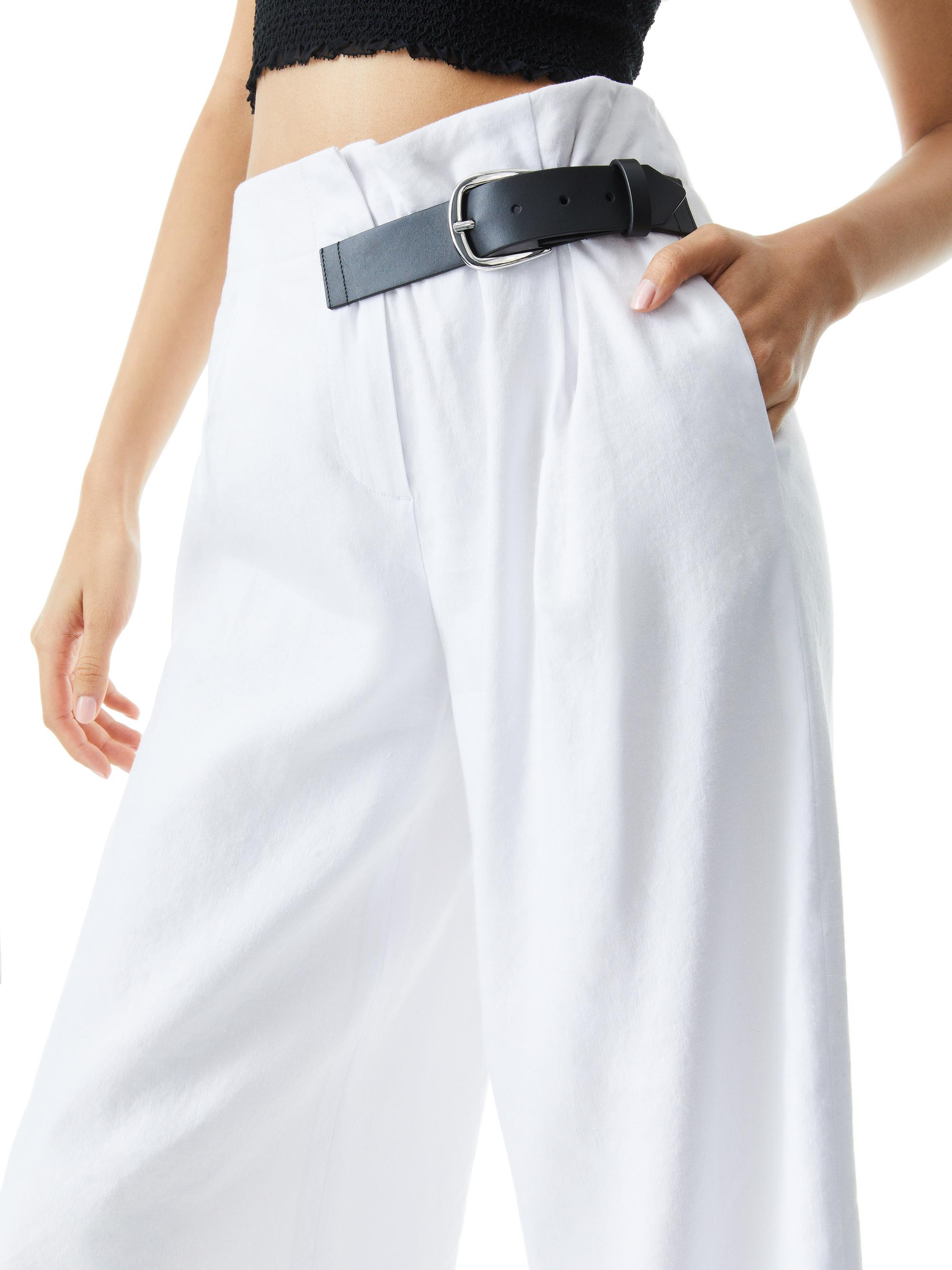 ADELINA BELTED PANT 4