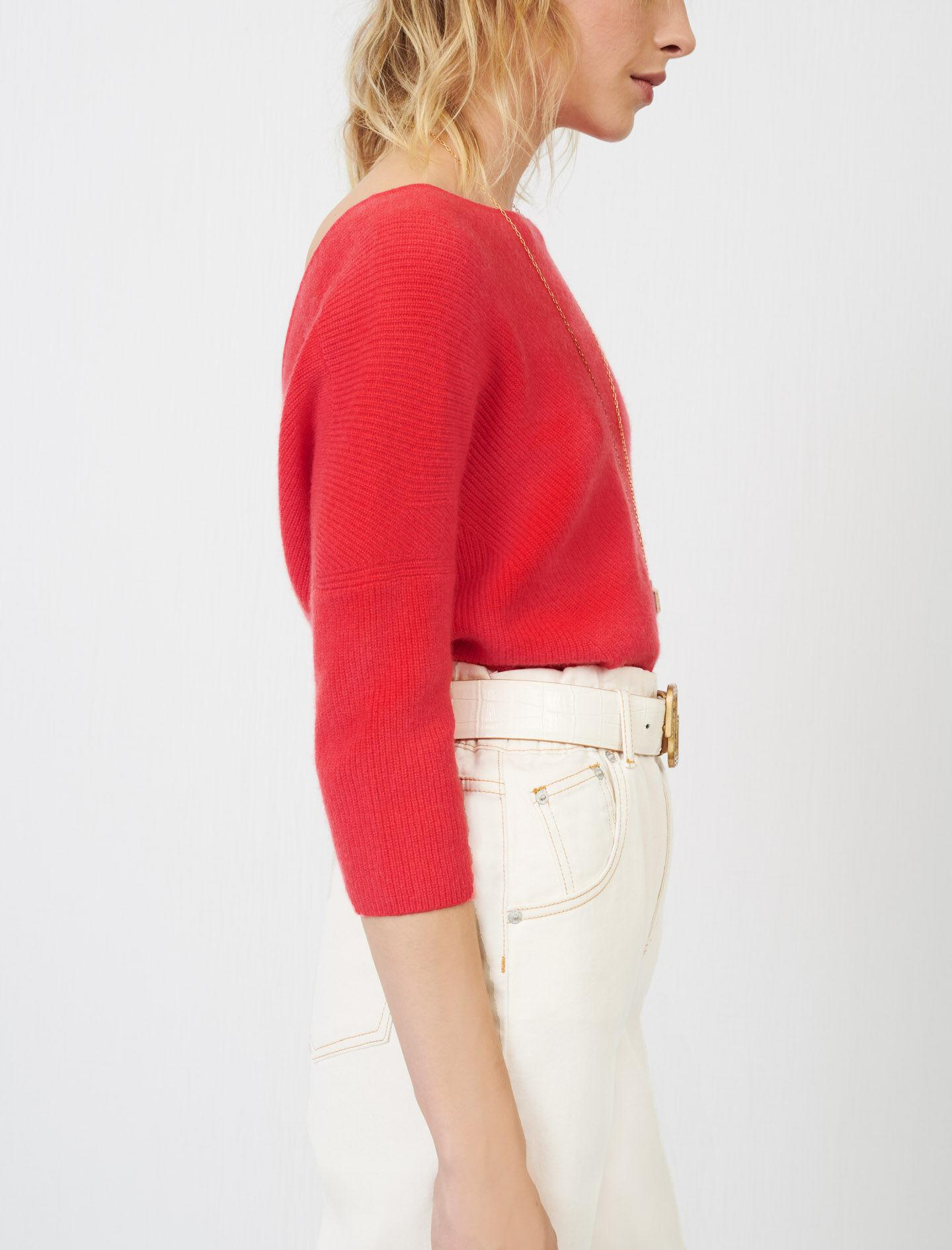 LOW-BACK CASHMERE SWEATER 2