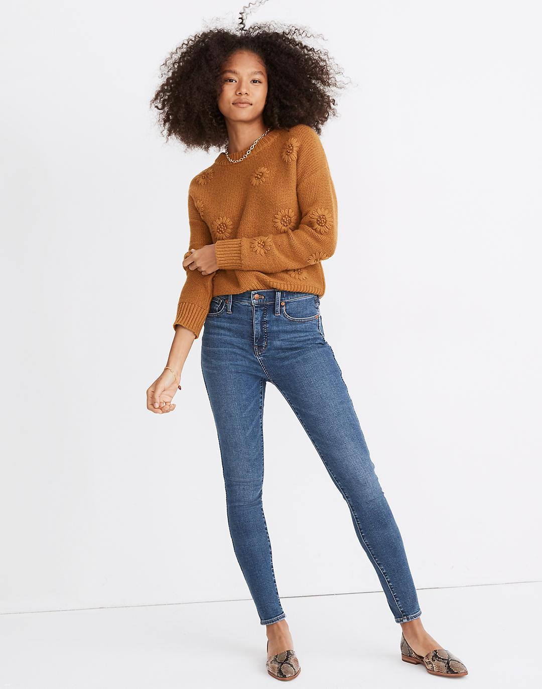 """10"""" High-Rise Skinny Jeans in Wendover Wash: TENCEL™ Denim Edition"""