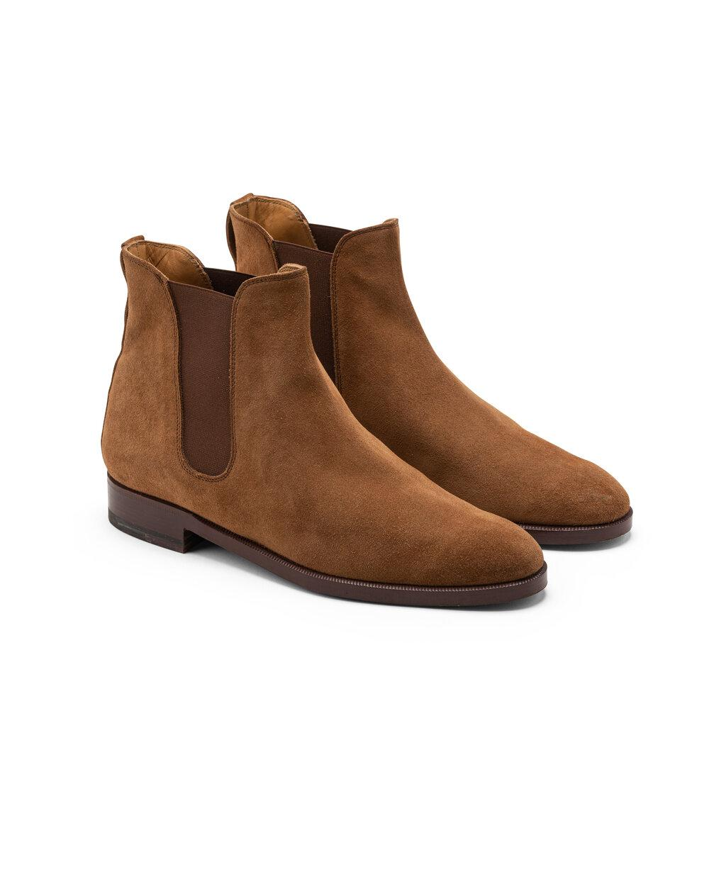ODPEssentials Classic Chelsea Boot - Tan Suede 1
