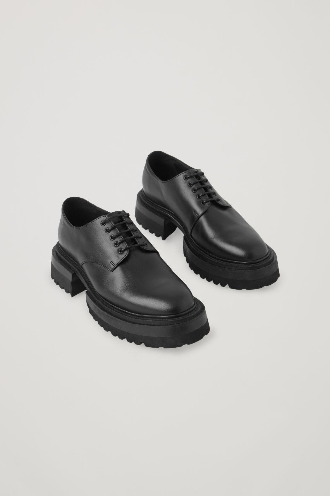 CHUNKY DERBY SHOES 3