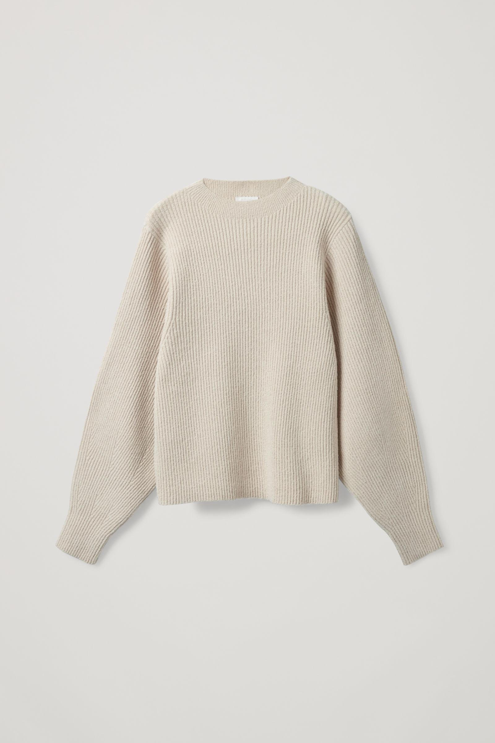 RIBBED KNITTED JUMPER 7