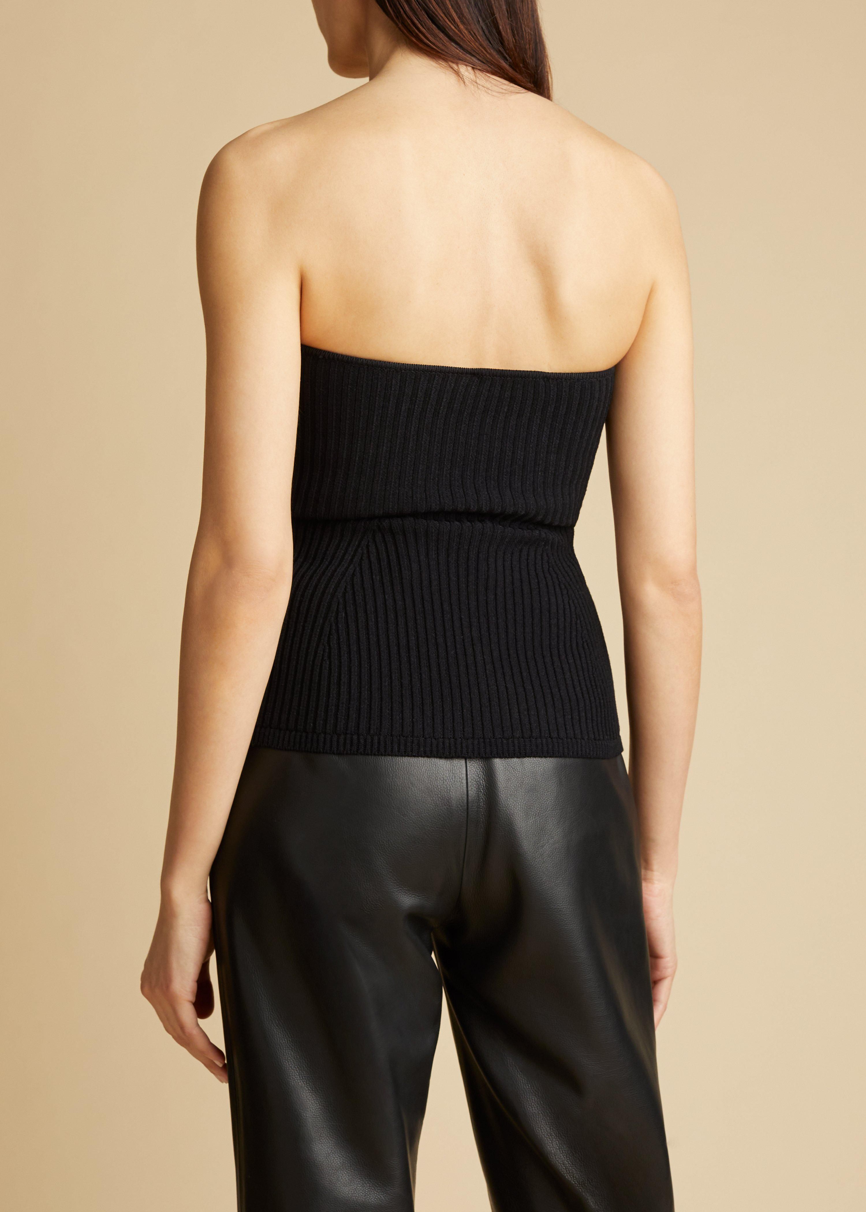 The Lucie Top in Black 2