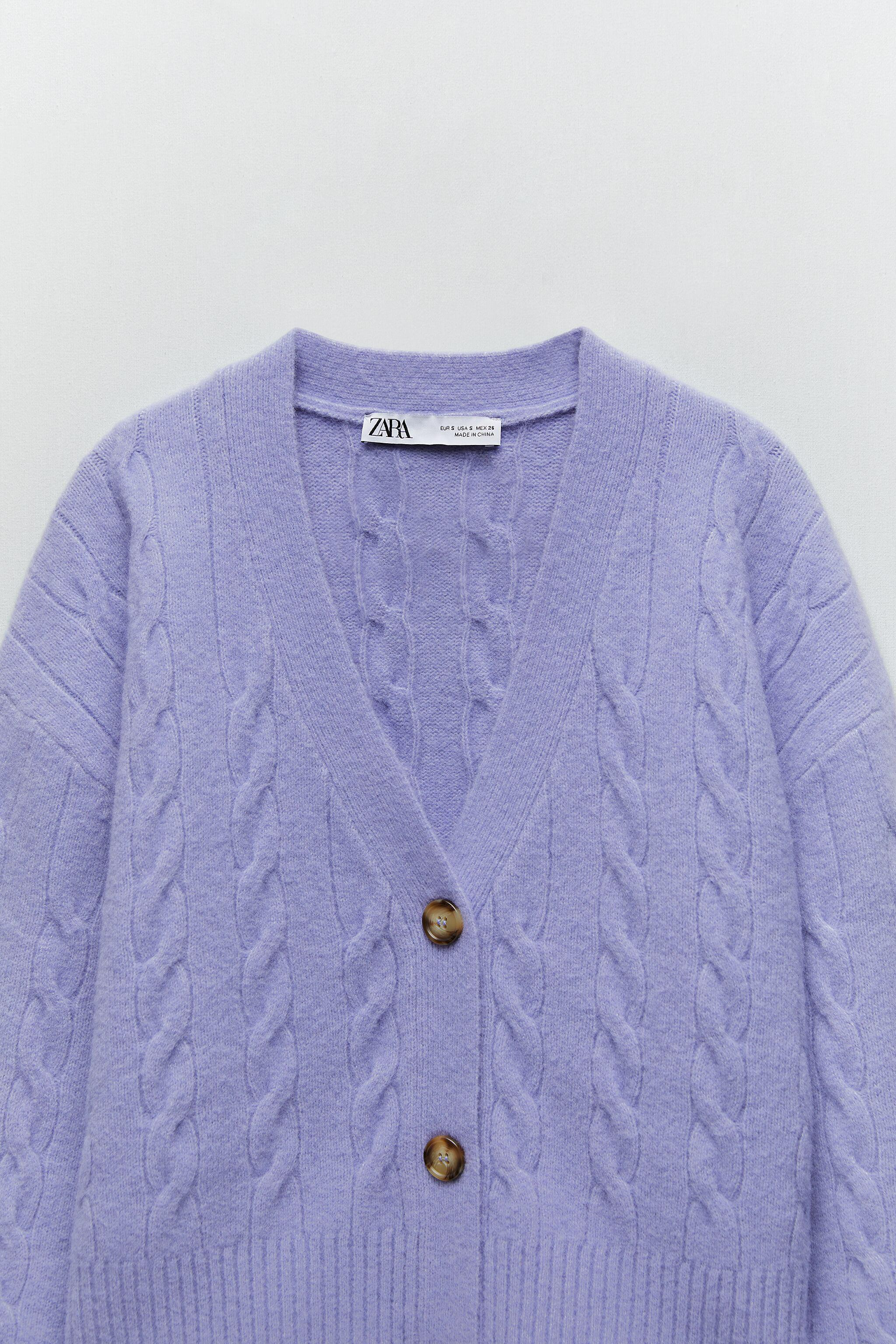 CABLE-KNIT JACKET 5