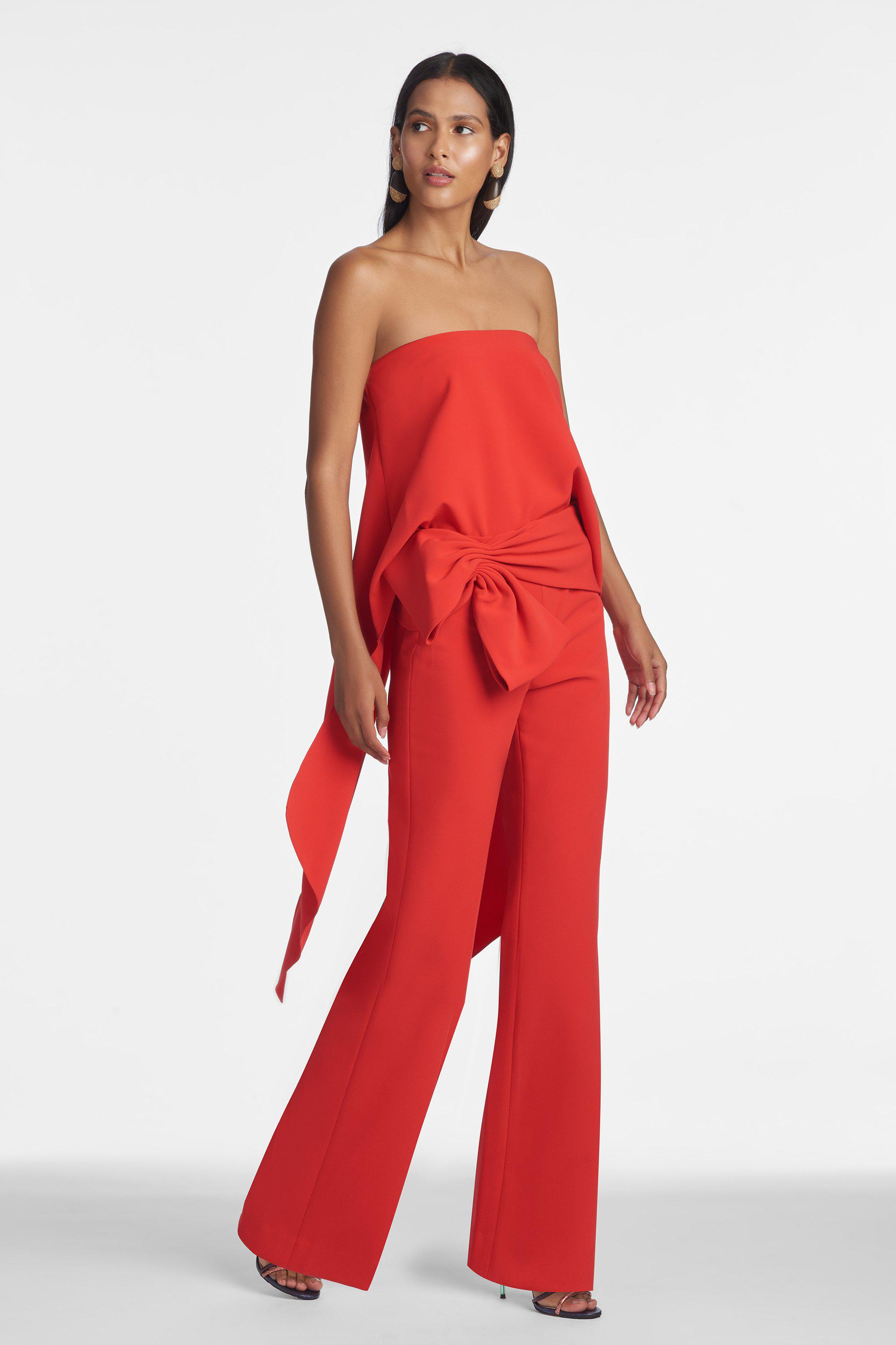 Whitley Pants - Red