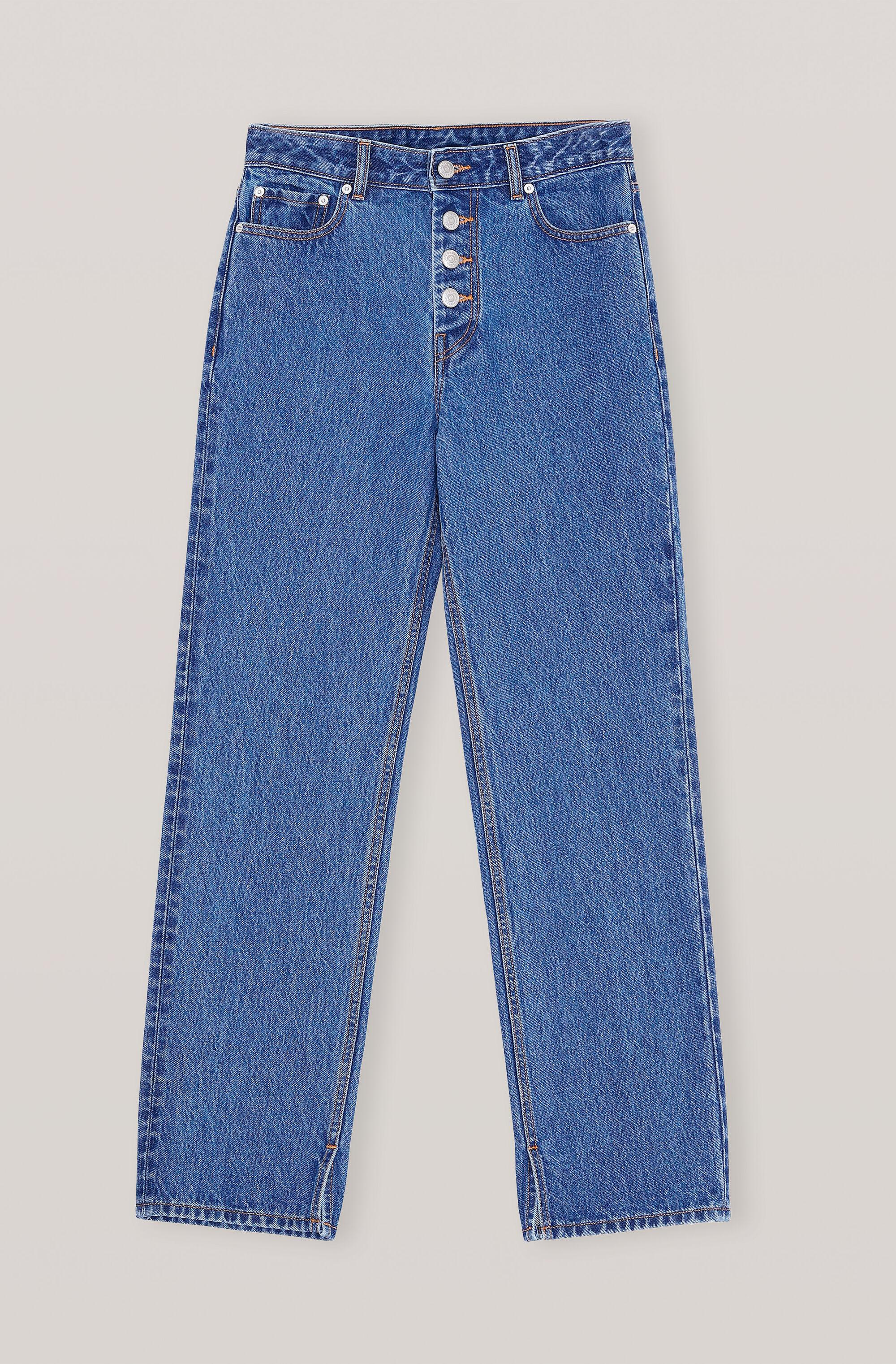 Basic Denim Relaxed Fit Jeans 2