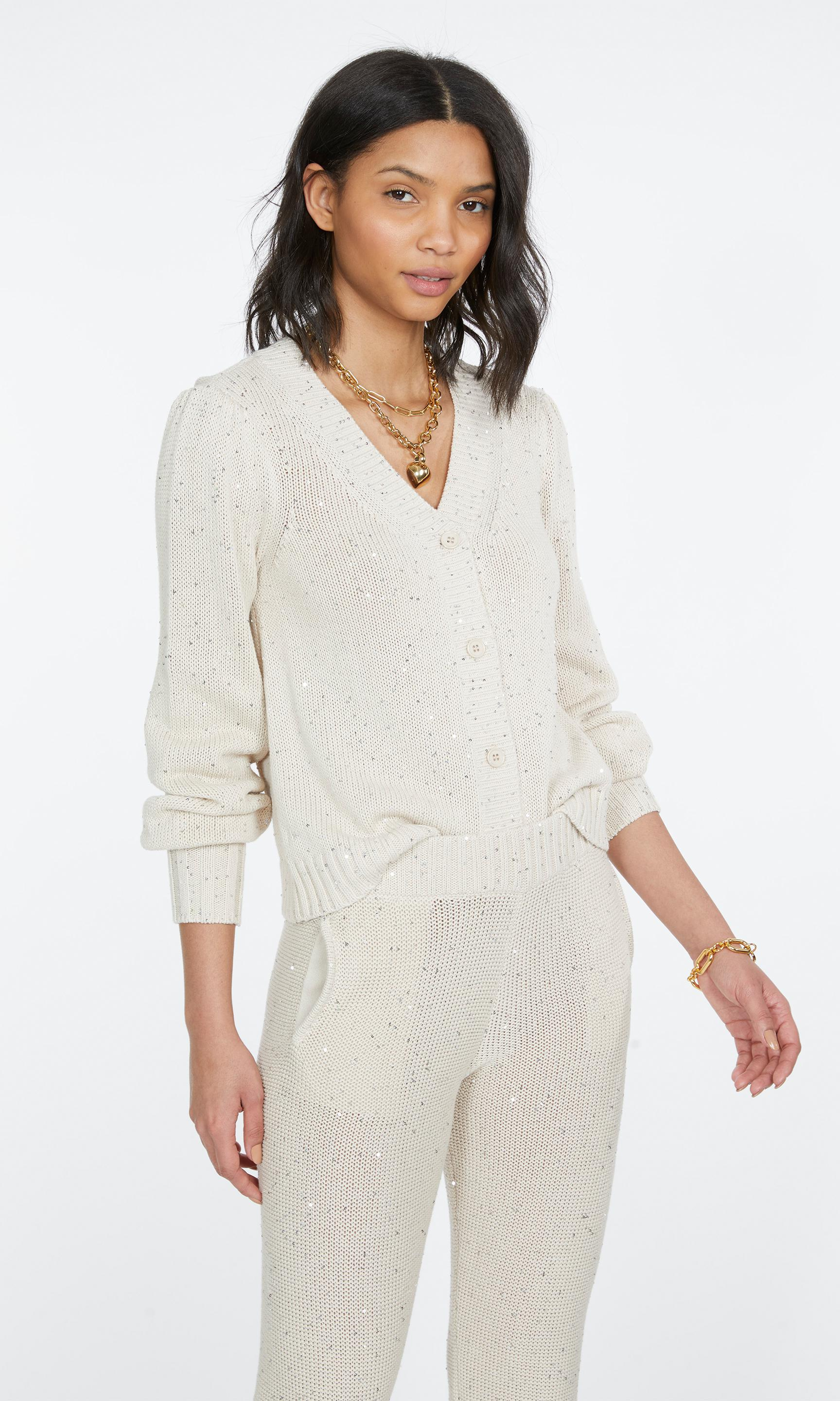 Lowell Sequin Knitted Cardigan 3
