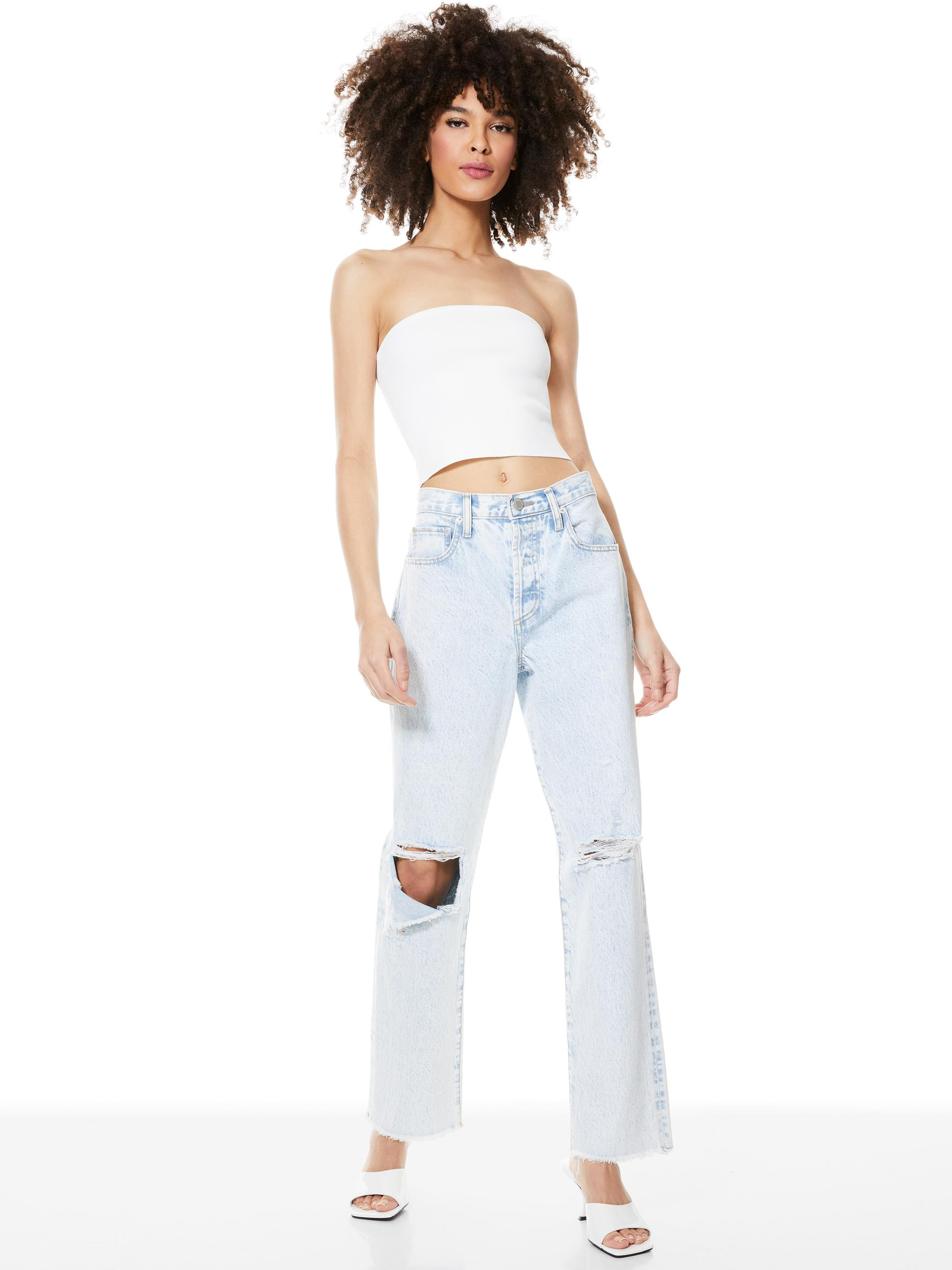 ALISON CROPPED TUBE TOP 4