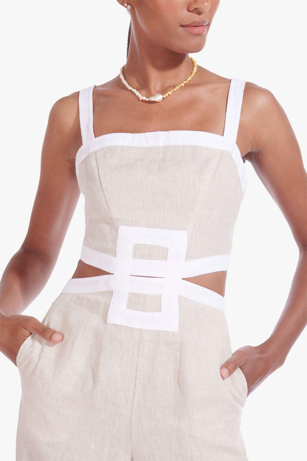 SHELLY JUMPSUIT | NATURAL WHITE 3