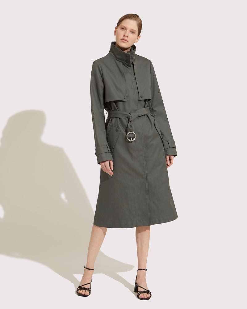 Trench coat fitted 2