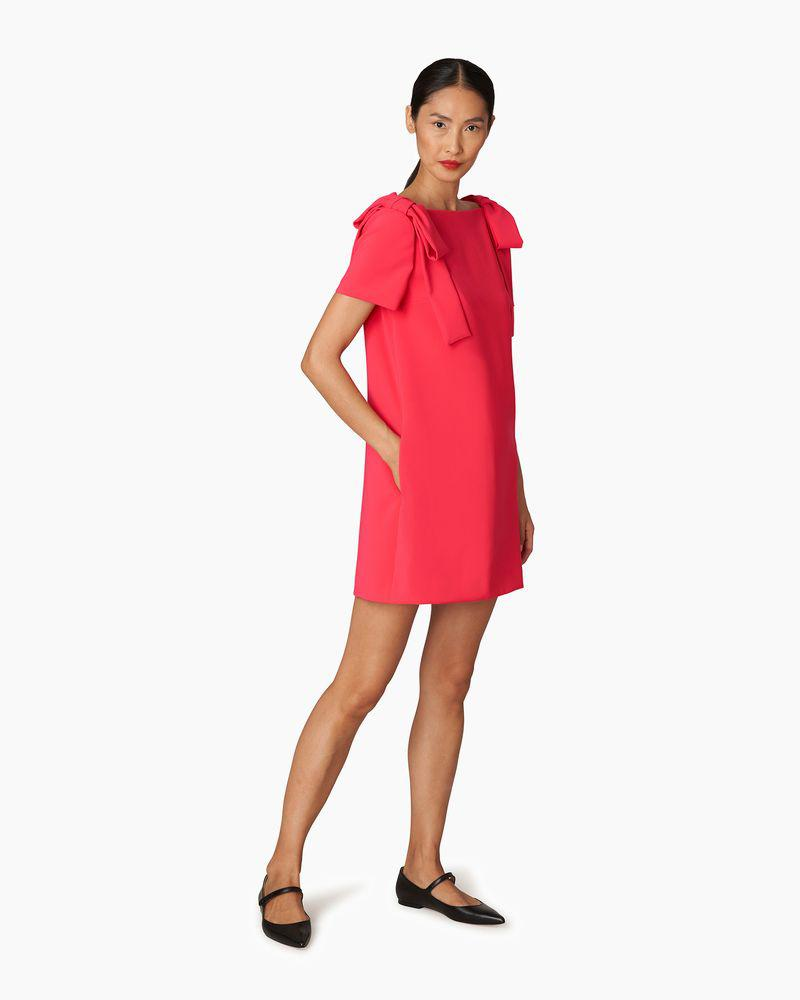 Shift Dress With Bows