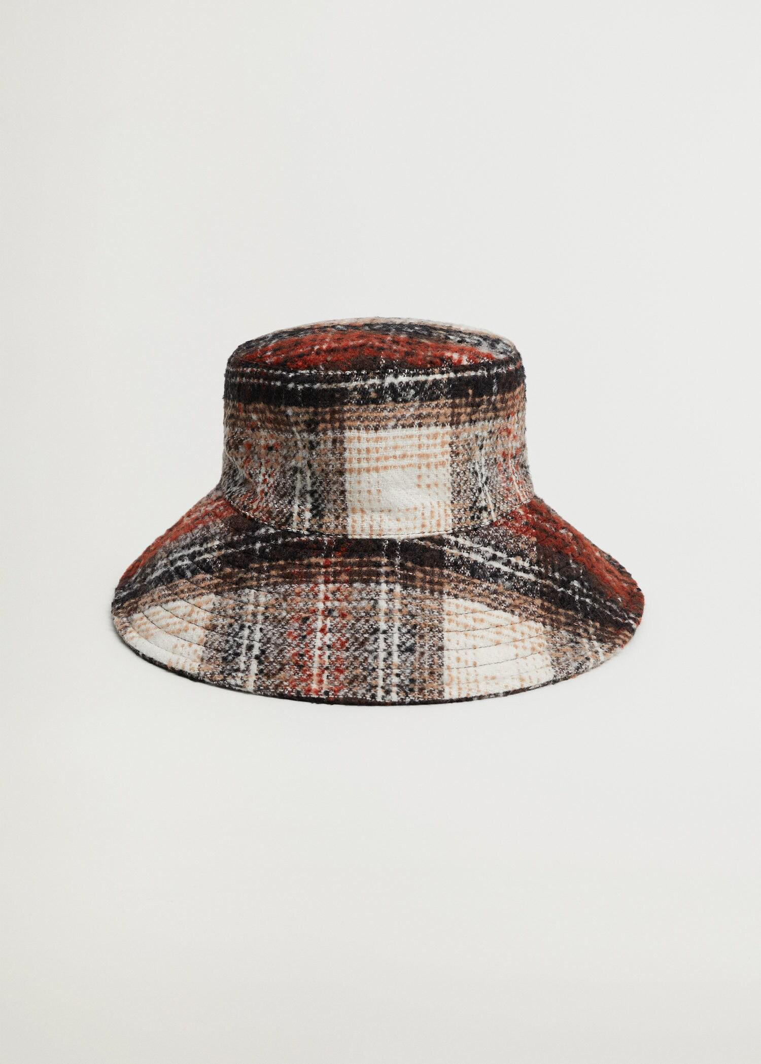 Checked bucket hat 2
