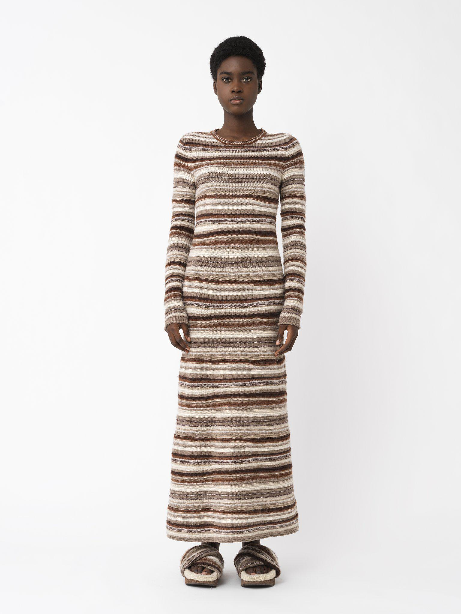 FITTED KNIT DRESS