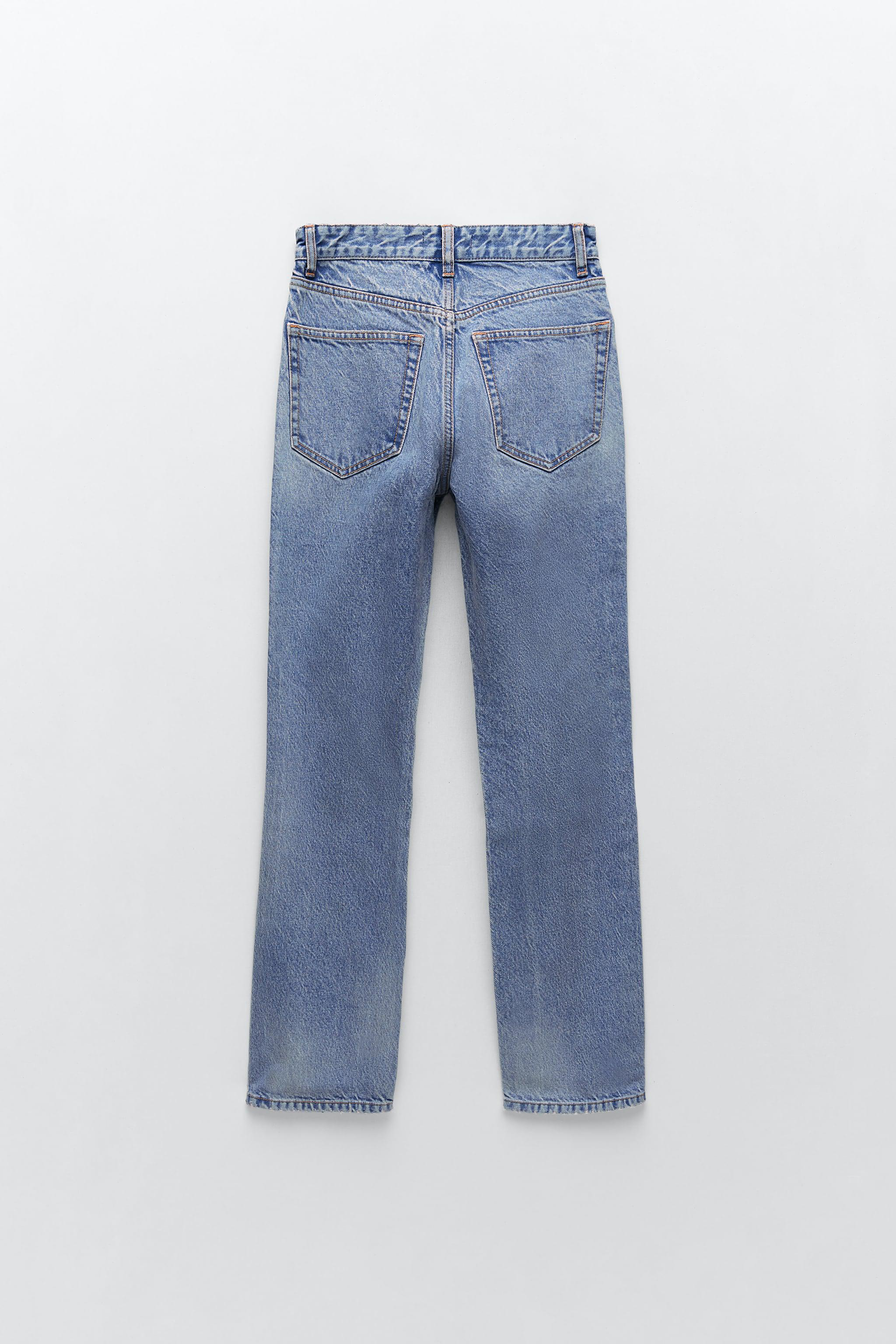 RIPPED STAIN DYE JEANS 5