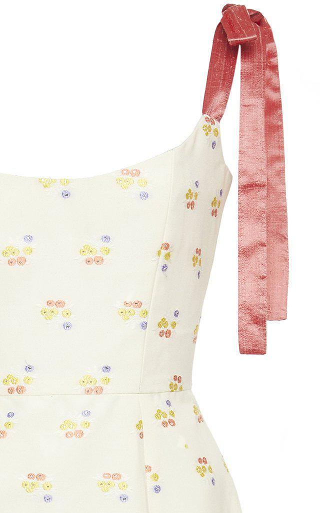 Darcy Floral Embroidered Dress 3