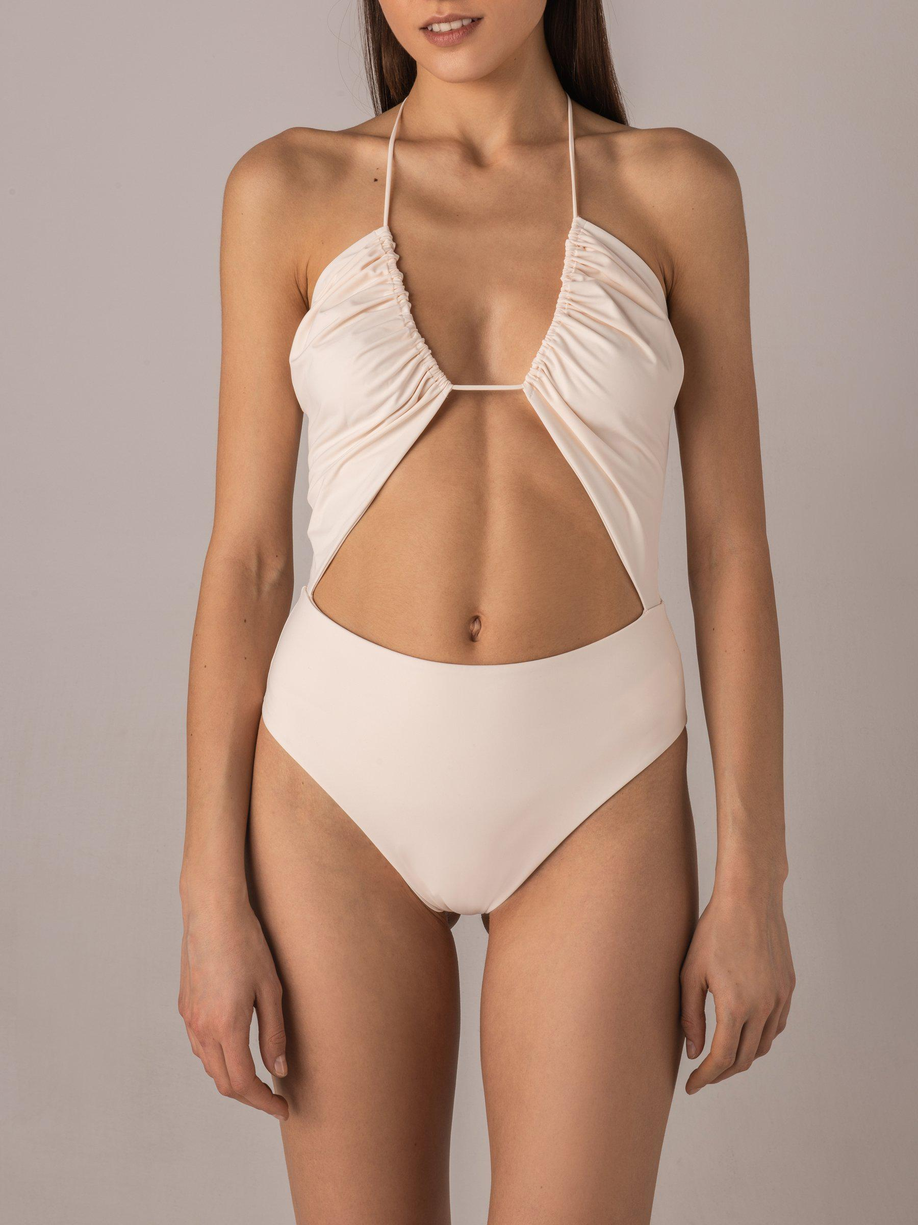 Elevated Essentials Cutout One-Piece