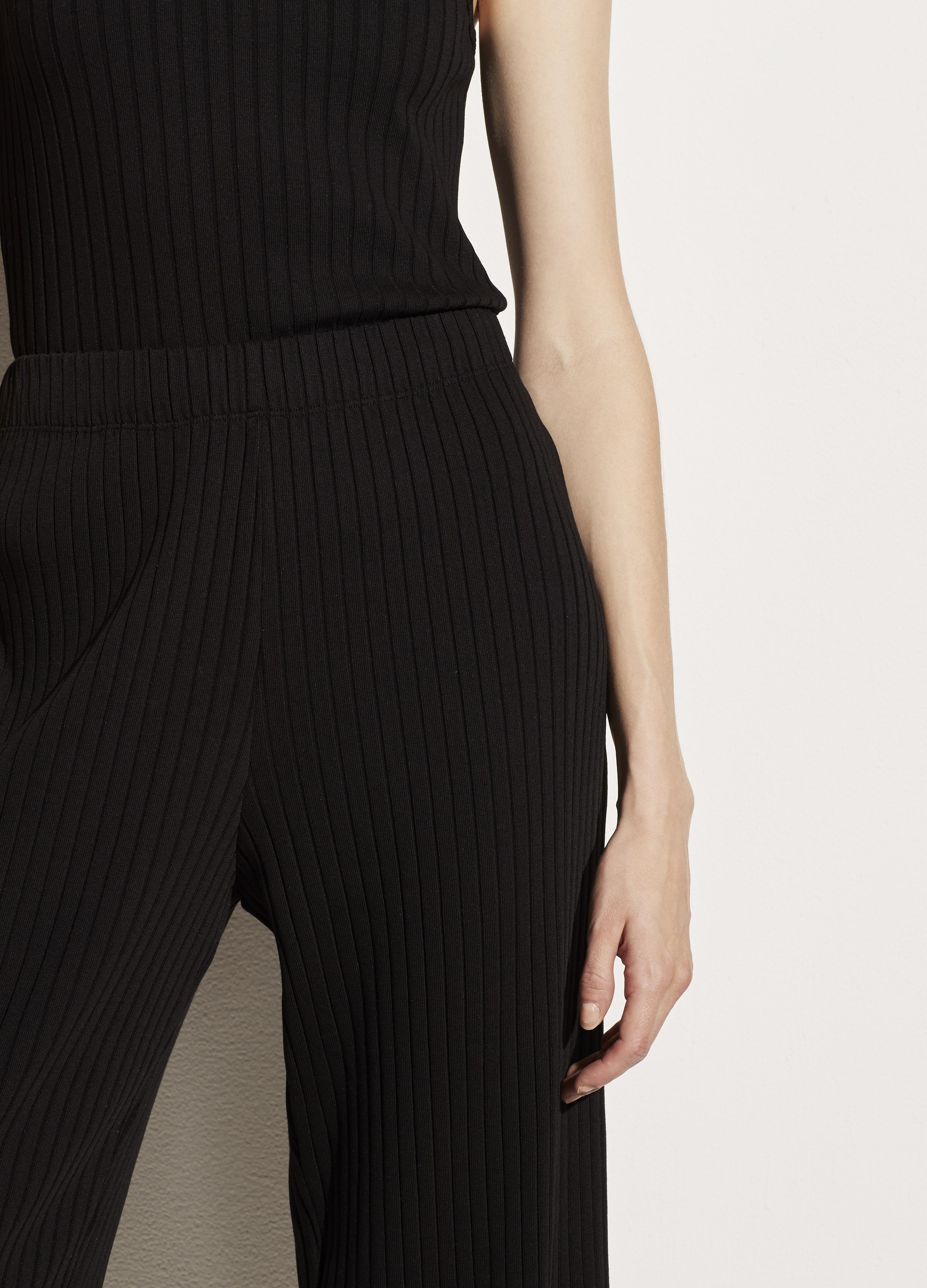 Ribbed Cropped Pant 3