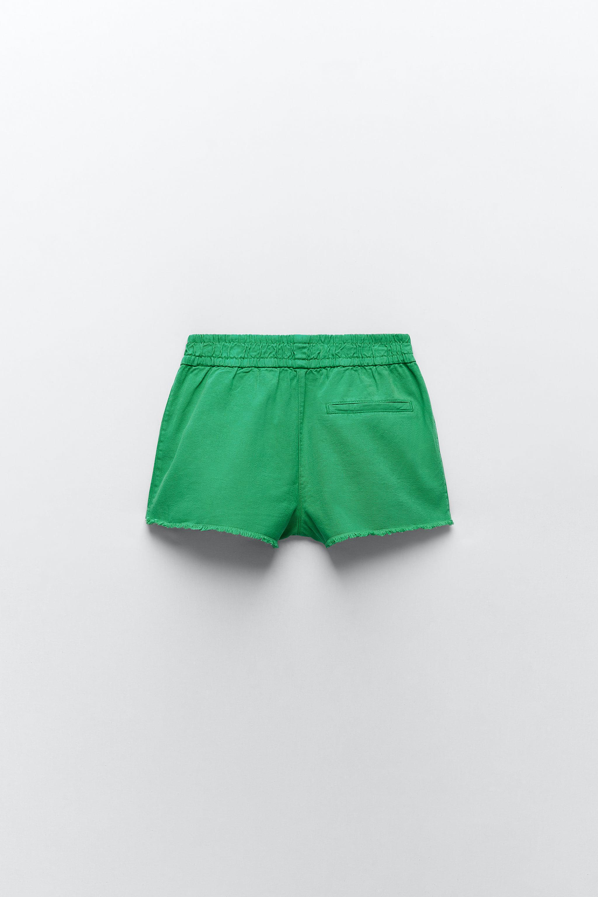 SOLID COLOR SHORTS 5