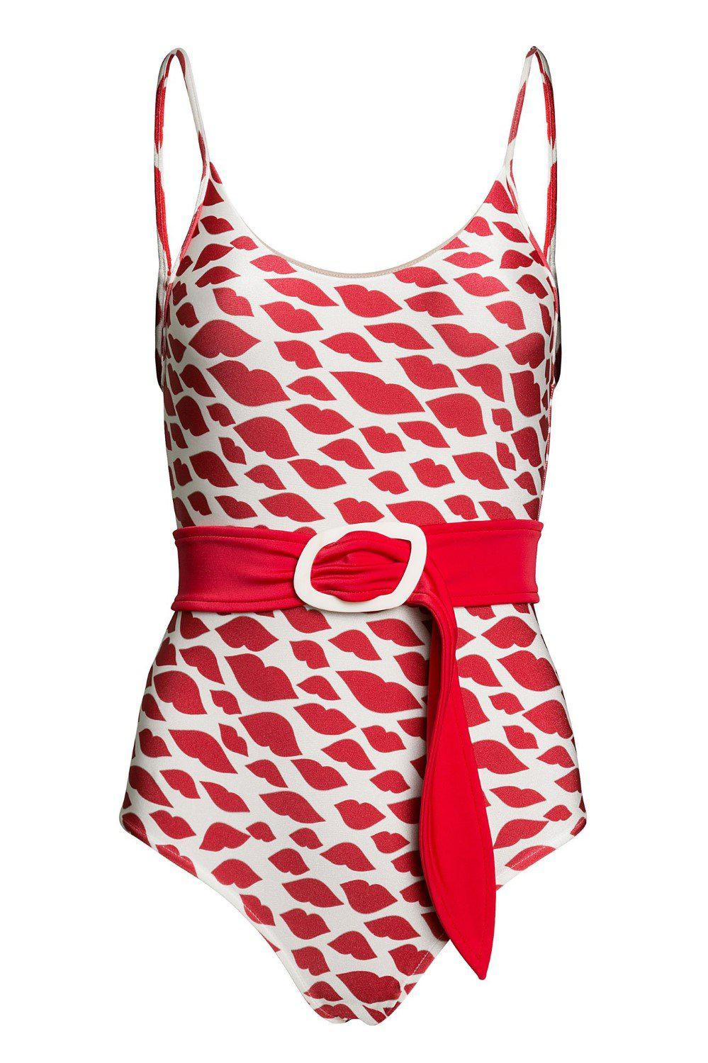 Bacio Swimsuit With Straps and Belt 3