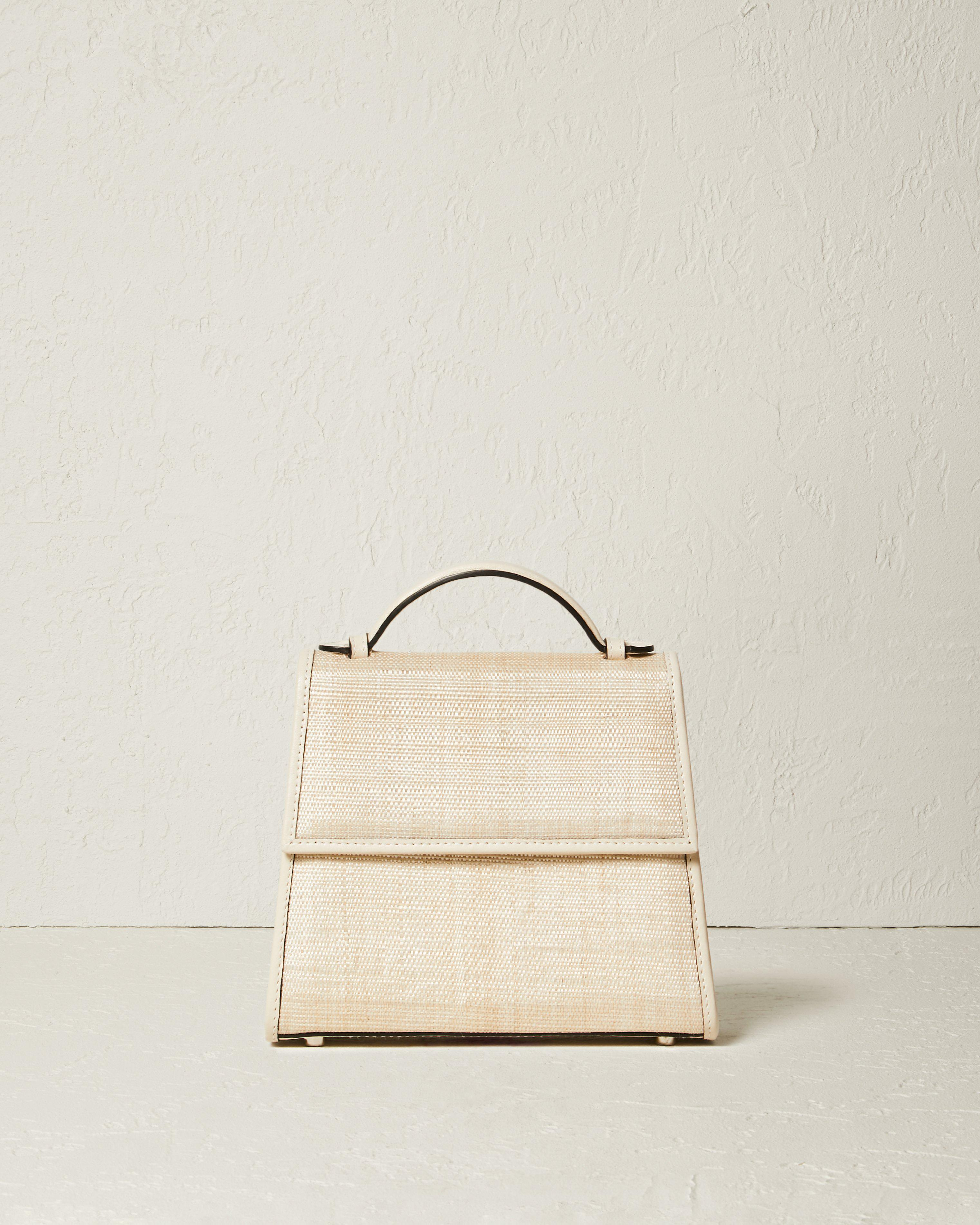 The Small Top Handle in Woven Fique