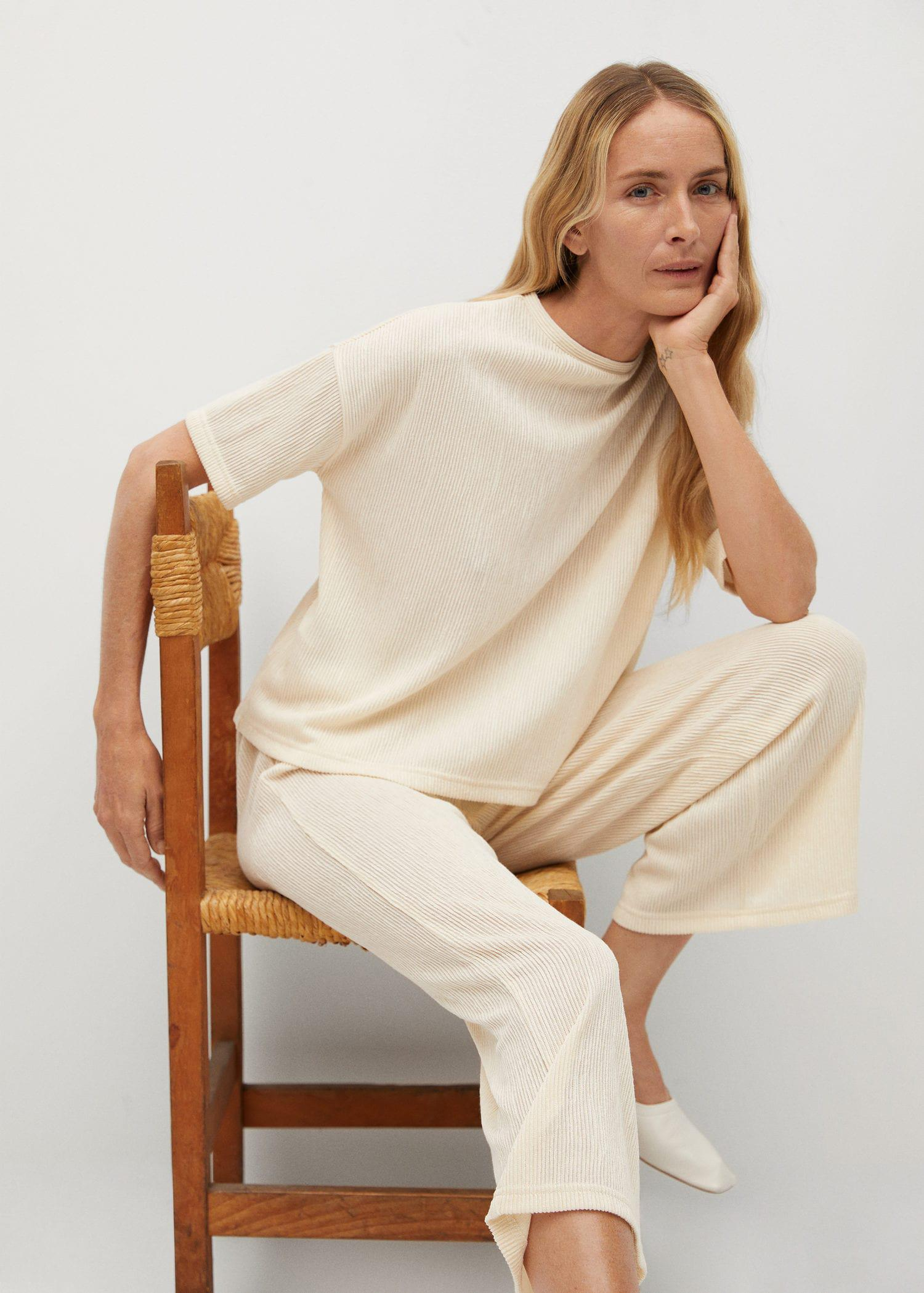 Pleated culotte trousers 4