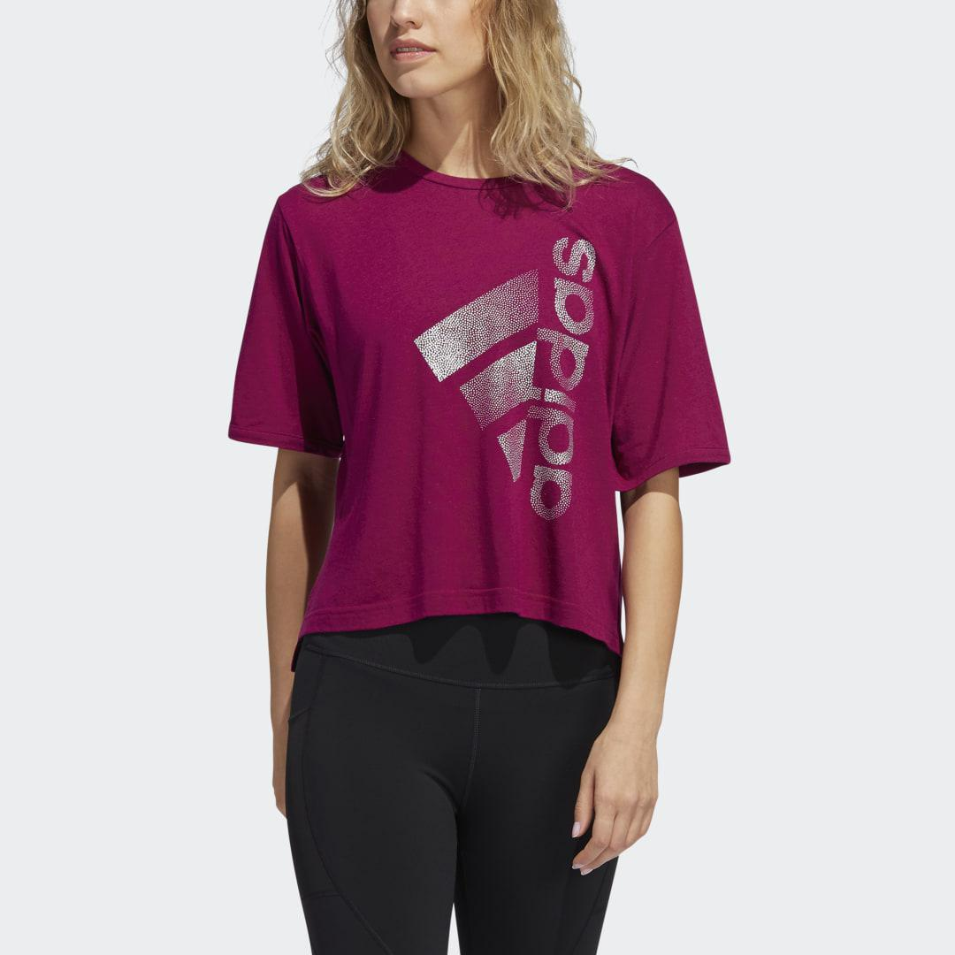 Holiday Tee Power Berry XL - Womens Training T Shirts 2