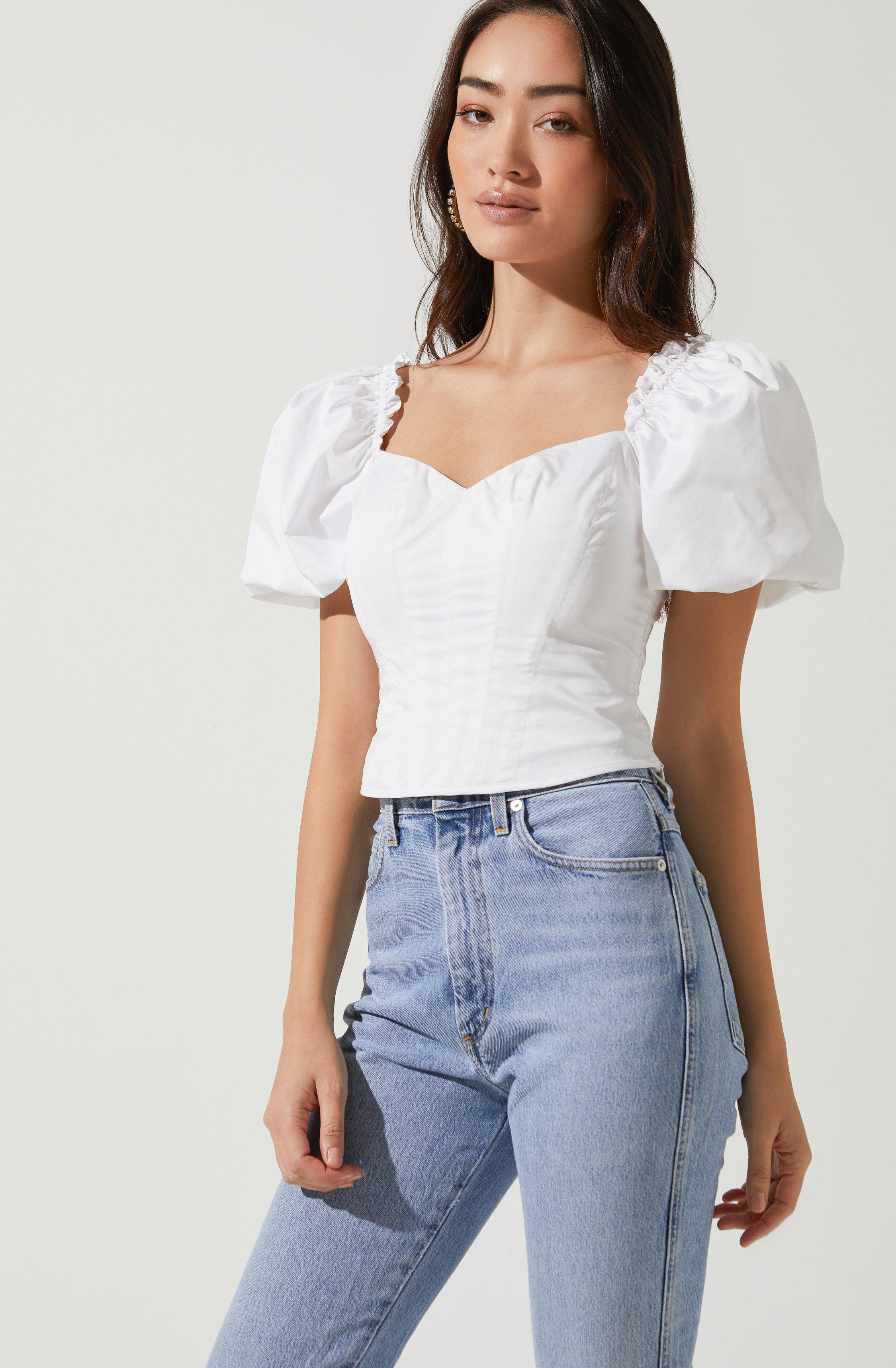 Gilmore Puff Sleeve Top