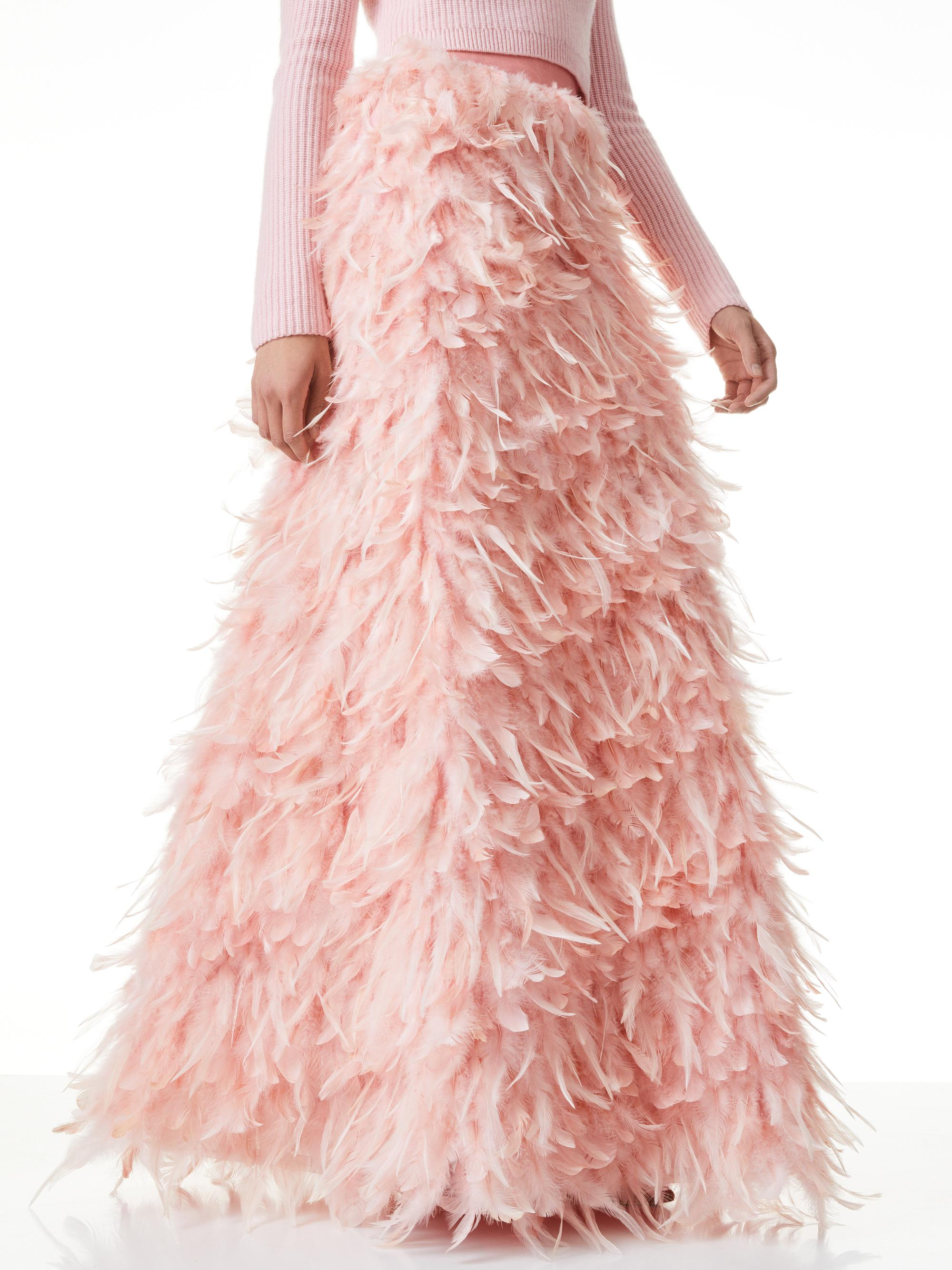 URSULA FEATHER BALL GOWN SKIRT