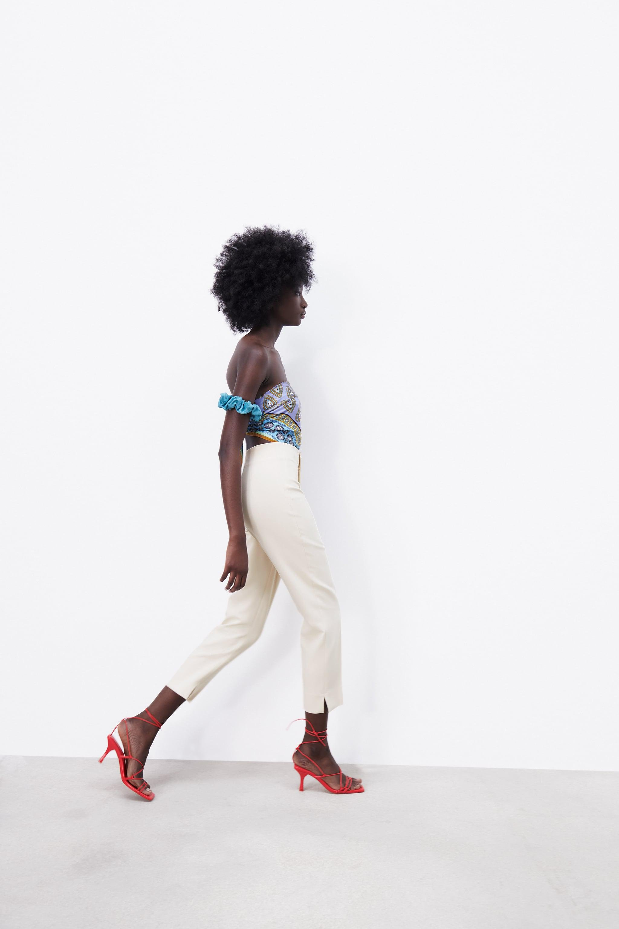 HIGH-WAISTED PANTS WITH VENTS 6