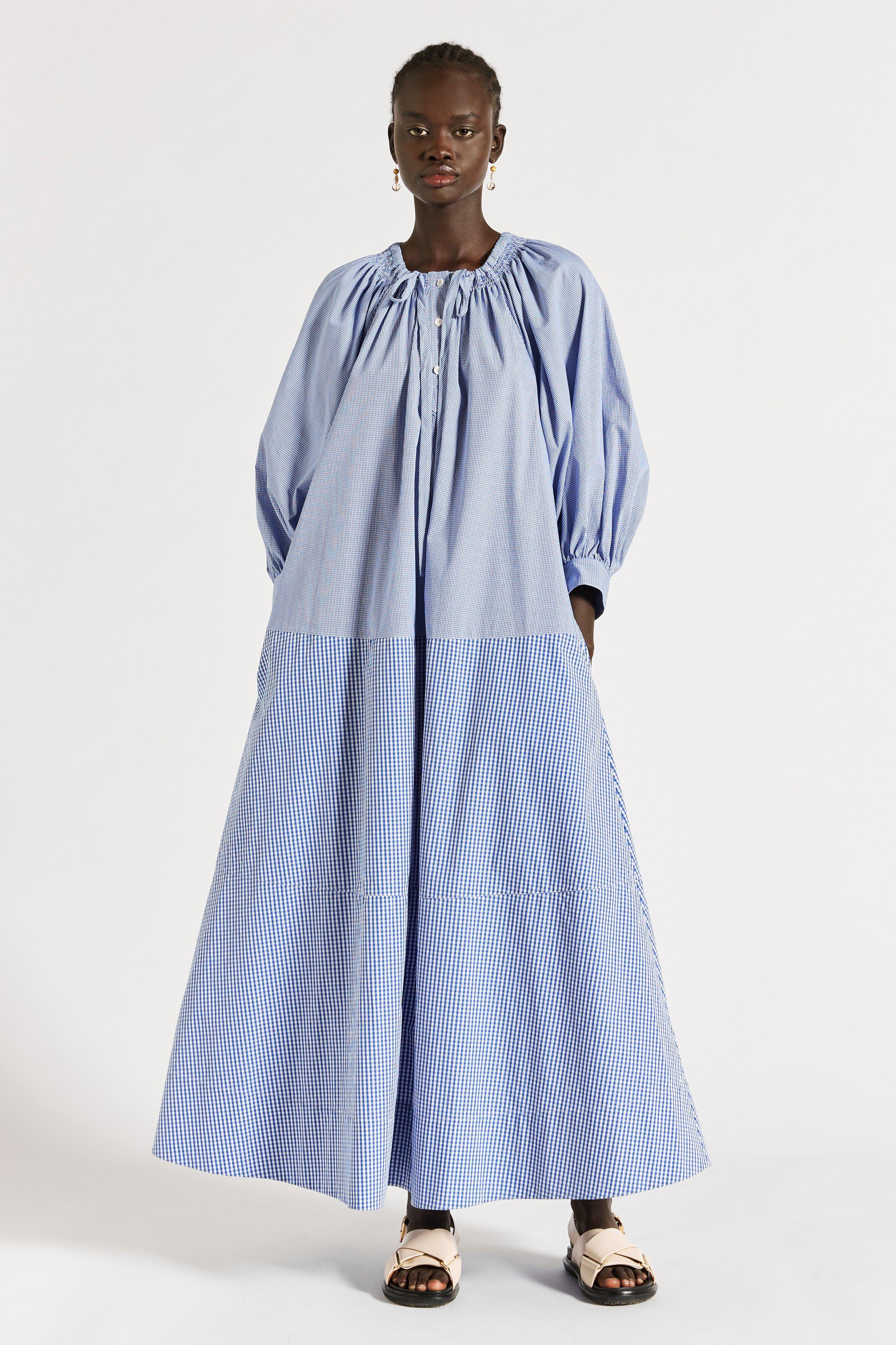Yale Ruched Maxi Dress
