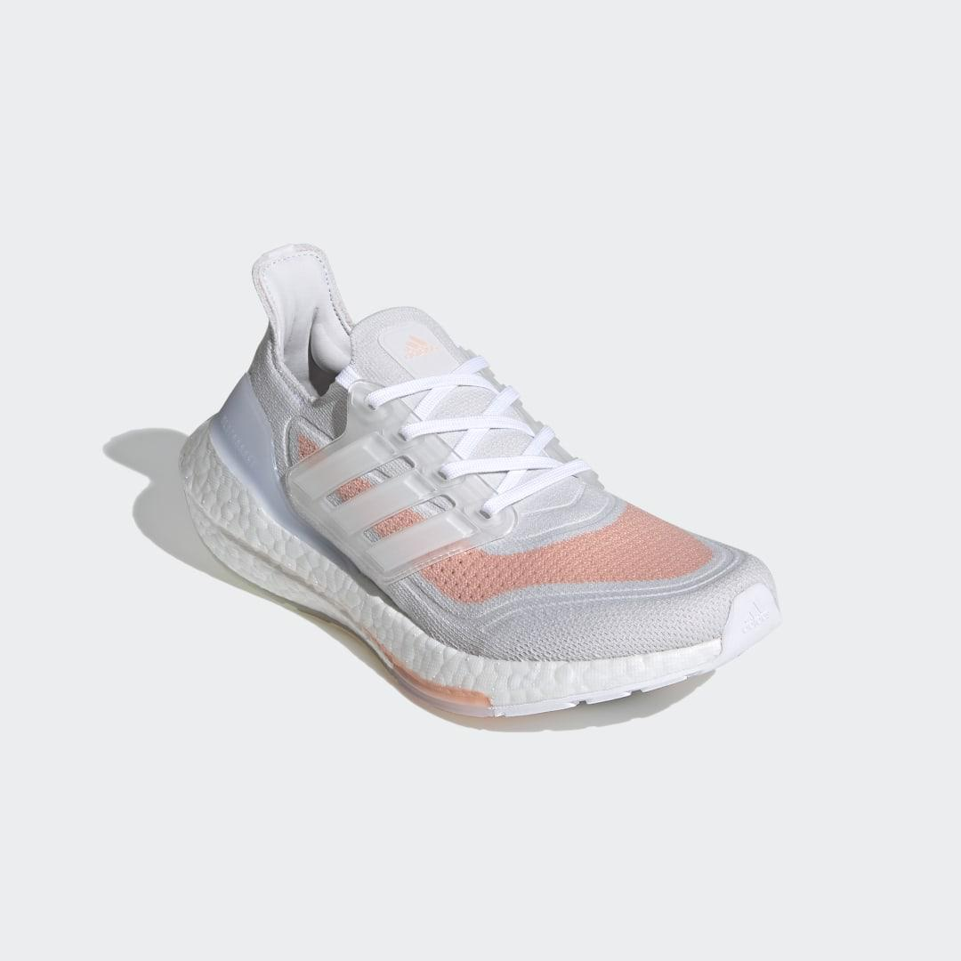 Ultraboost 21 Shoes Crystal White