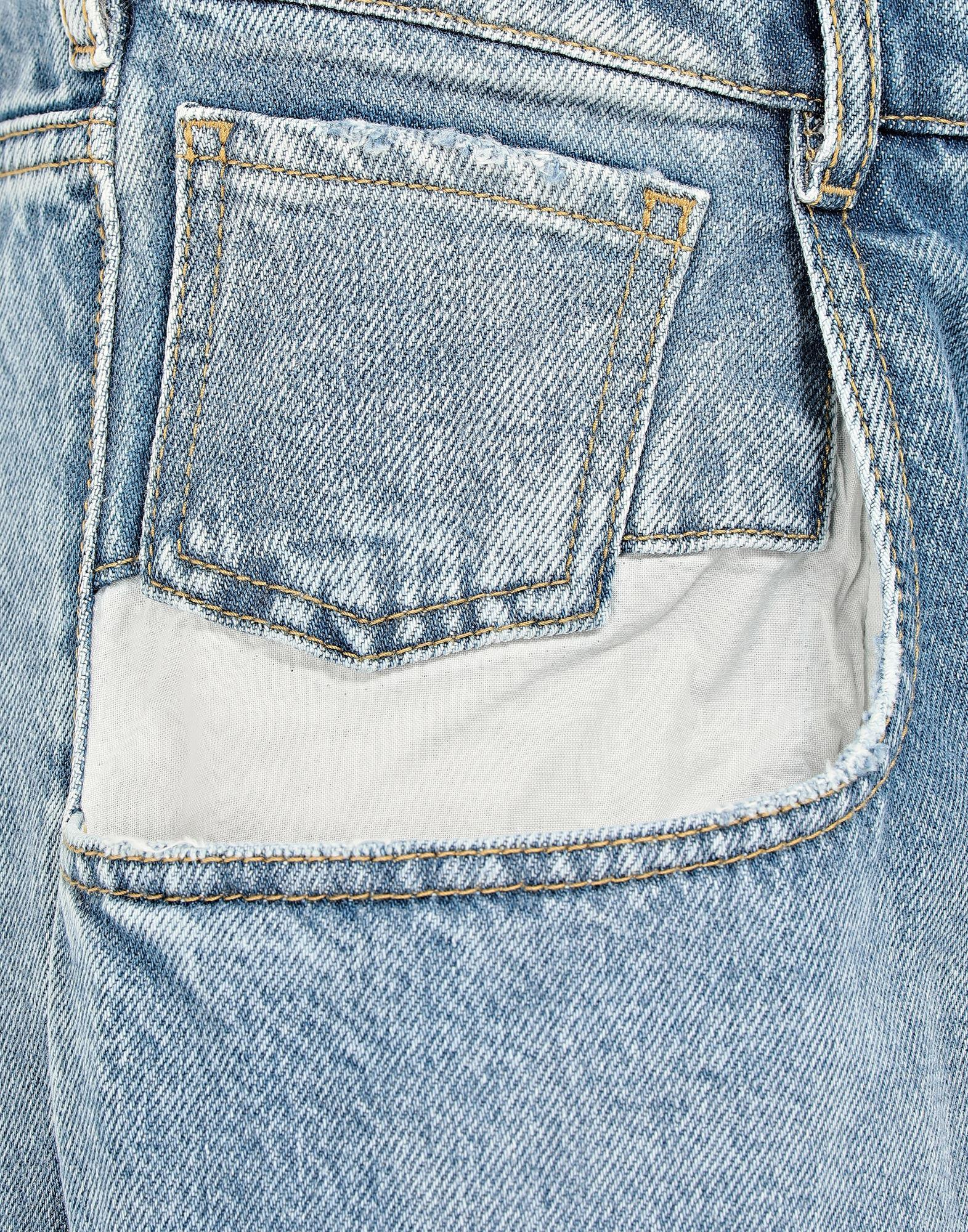 Straight jeans with contrasted pockets 5