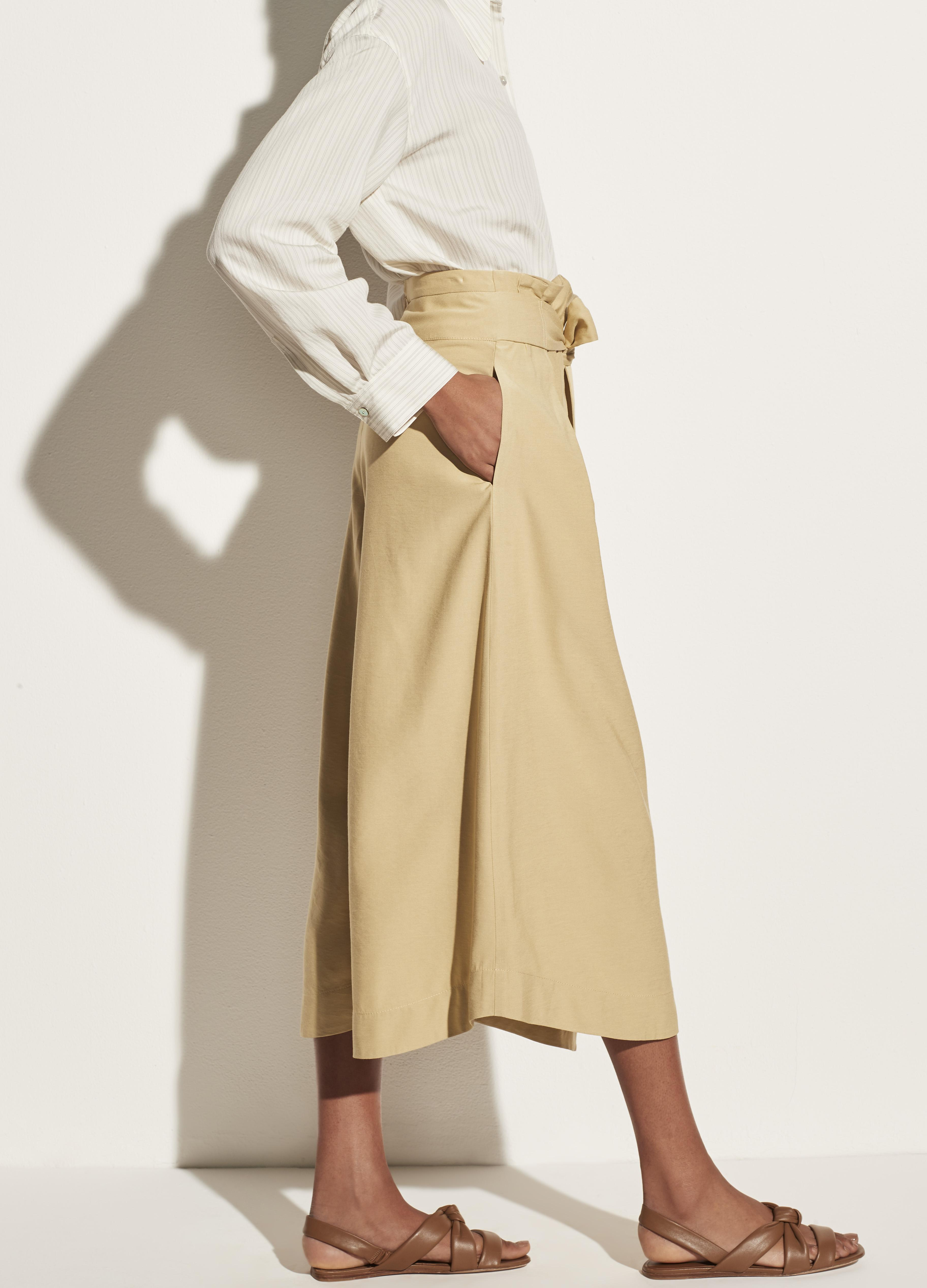Belted Palazzo Culotte 2