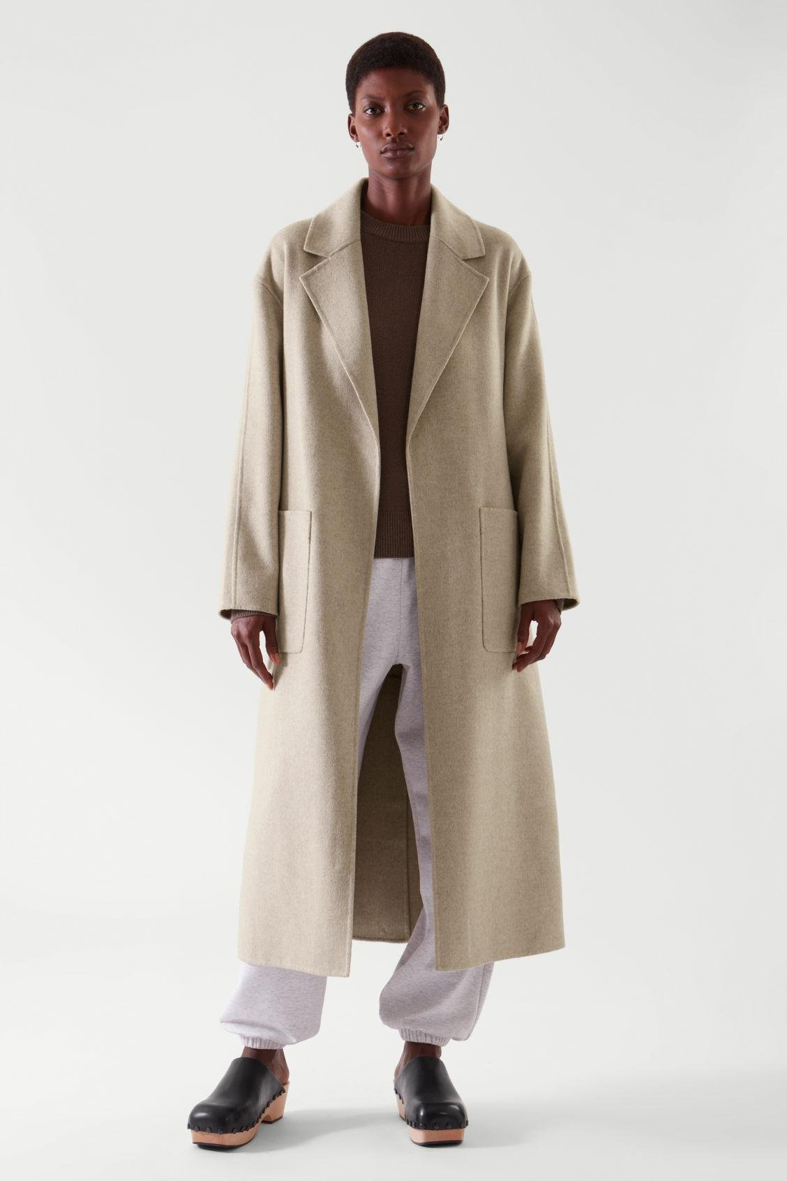 BELTED WRAP COAT 5